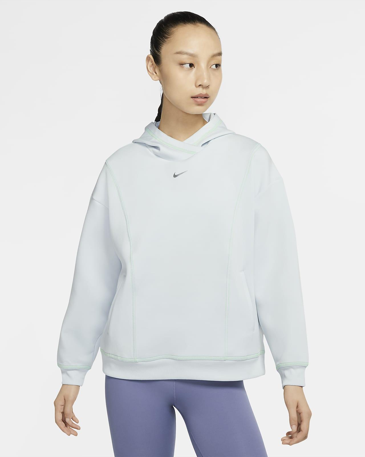 Nike Pro 女子训练针织连帽衫
