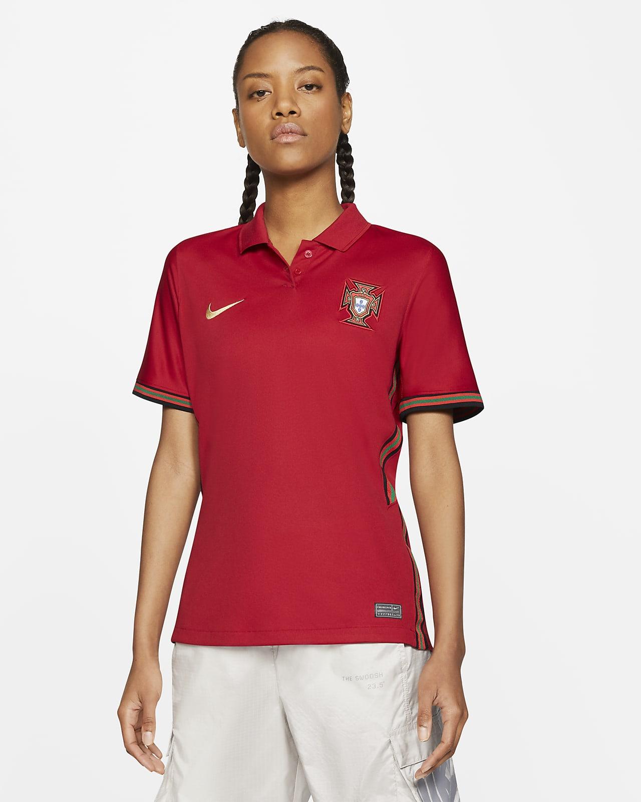Camisola de futebol do equipamento principal Stadium Portugal 2020 para mulher