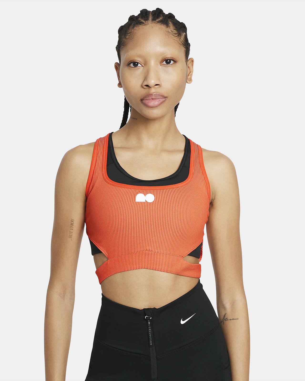 Top corto de tenis para mujer Naomi Osaka
