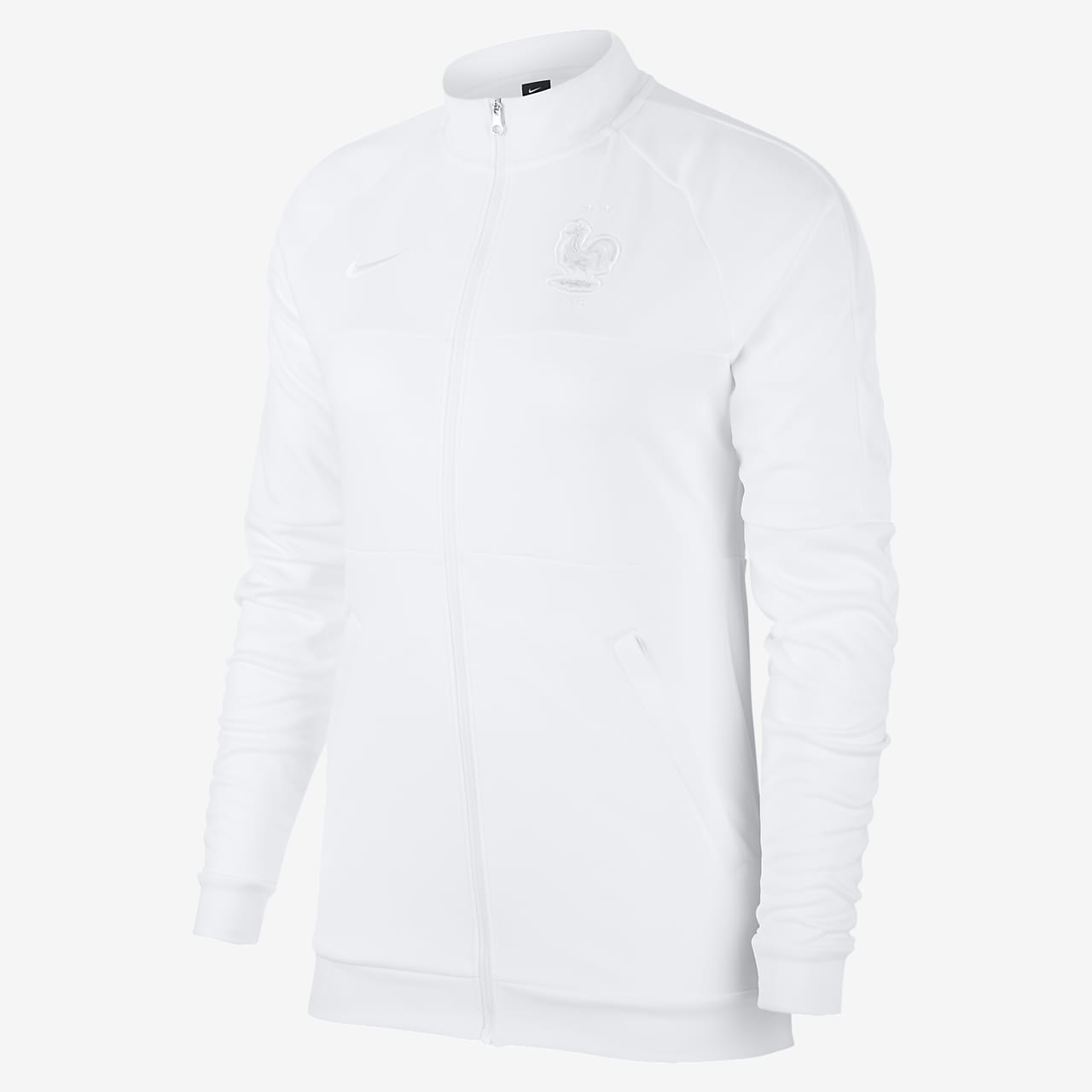 Track jacket da calcio FFF - Donna
