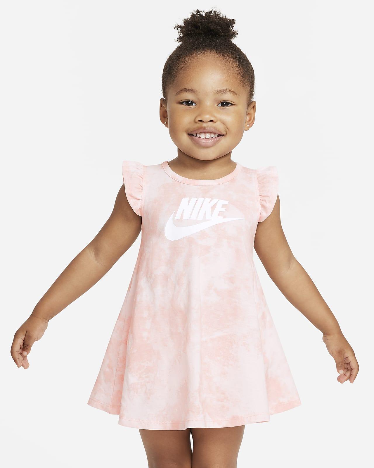 Vestido tie-dye para bebé Nike Sportswear (12 a 24 meses)