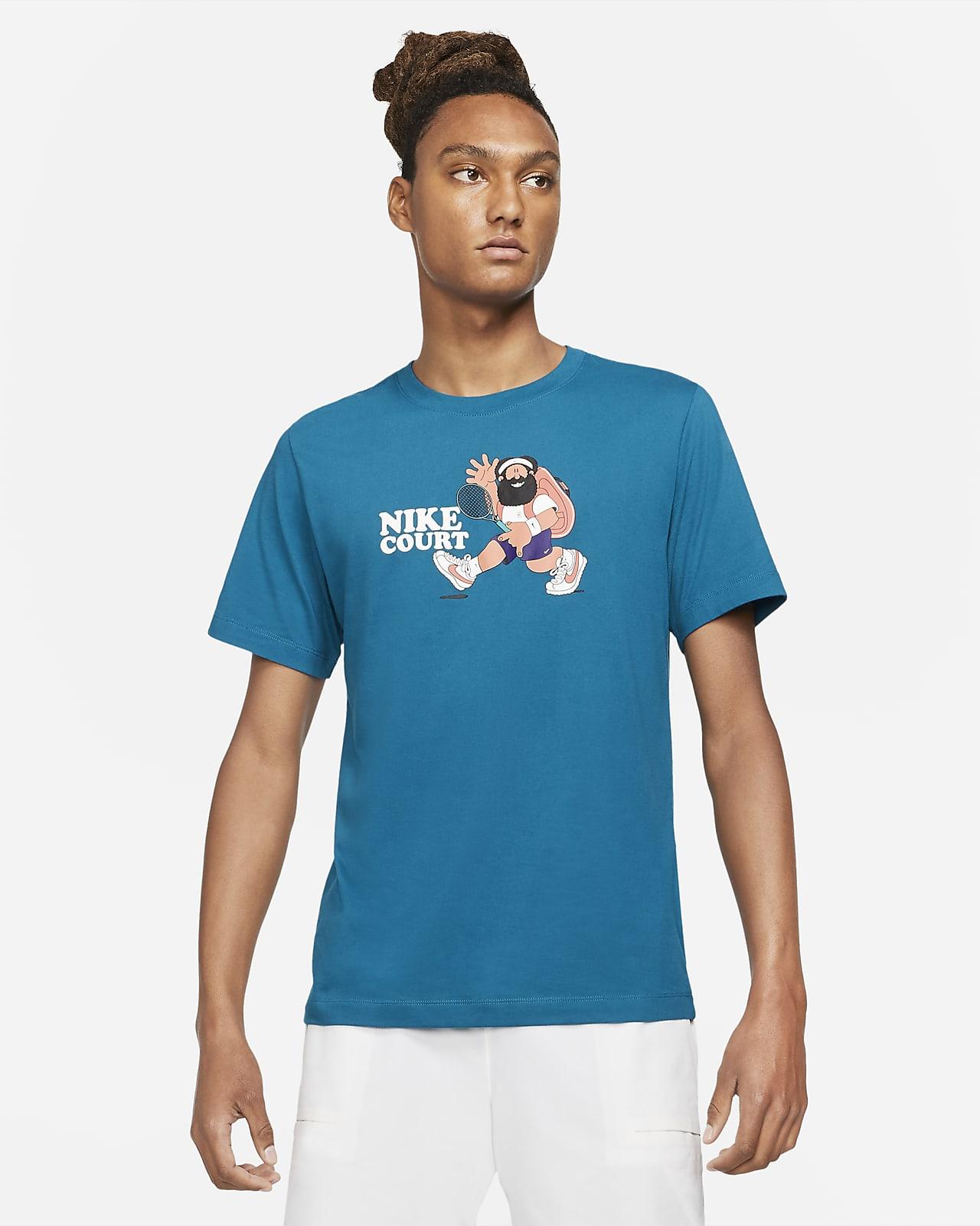 T-shirt da tennis NikeCourt - Uomo