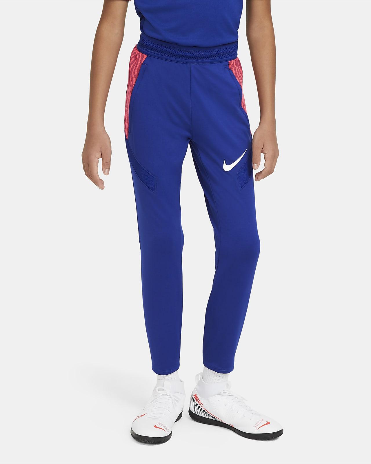 Spodnie piłkarskie dla dużych dzieci Nike Dri-FIT Strike