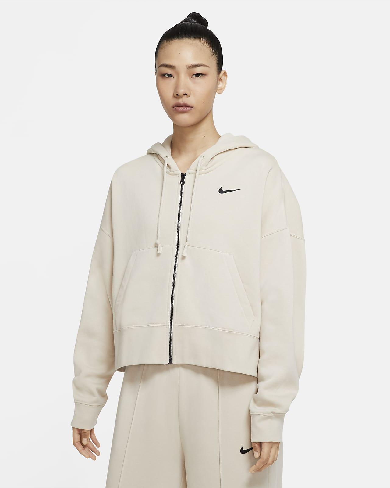 Full-Zip Fleece Hoodie. Nike