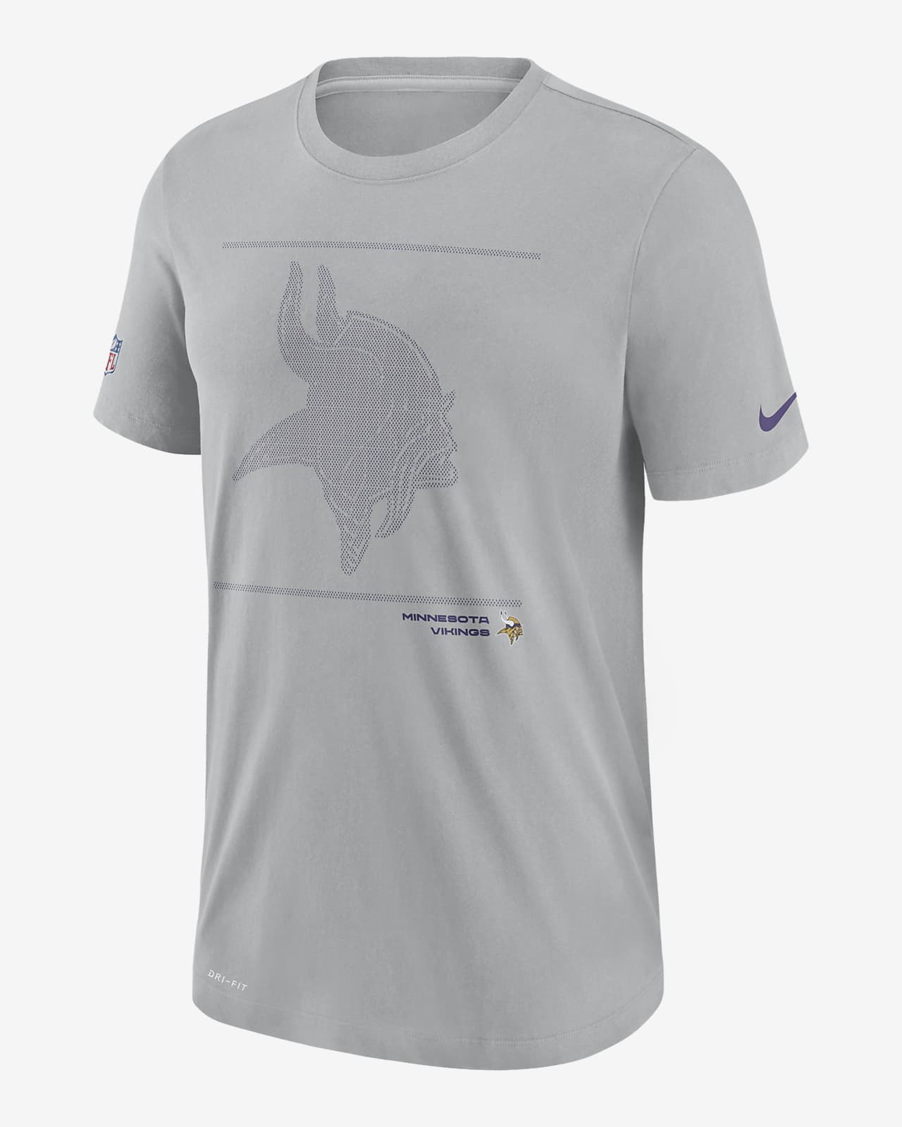 Nike Dri-FIT Sideline Team Issue (NFL Minnesota Vikings) Men's T-Shirt