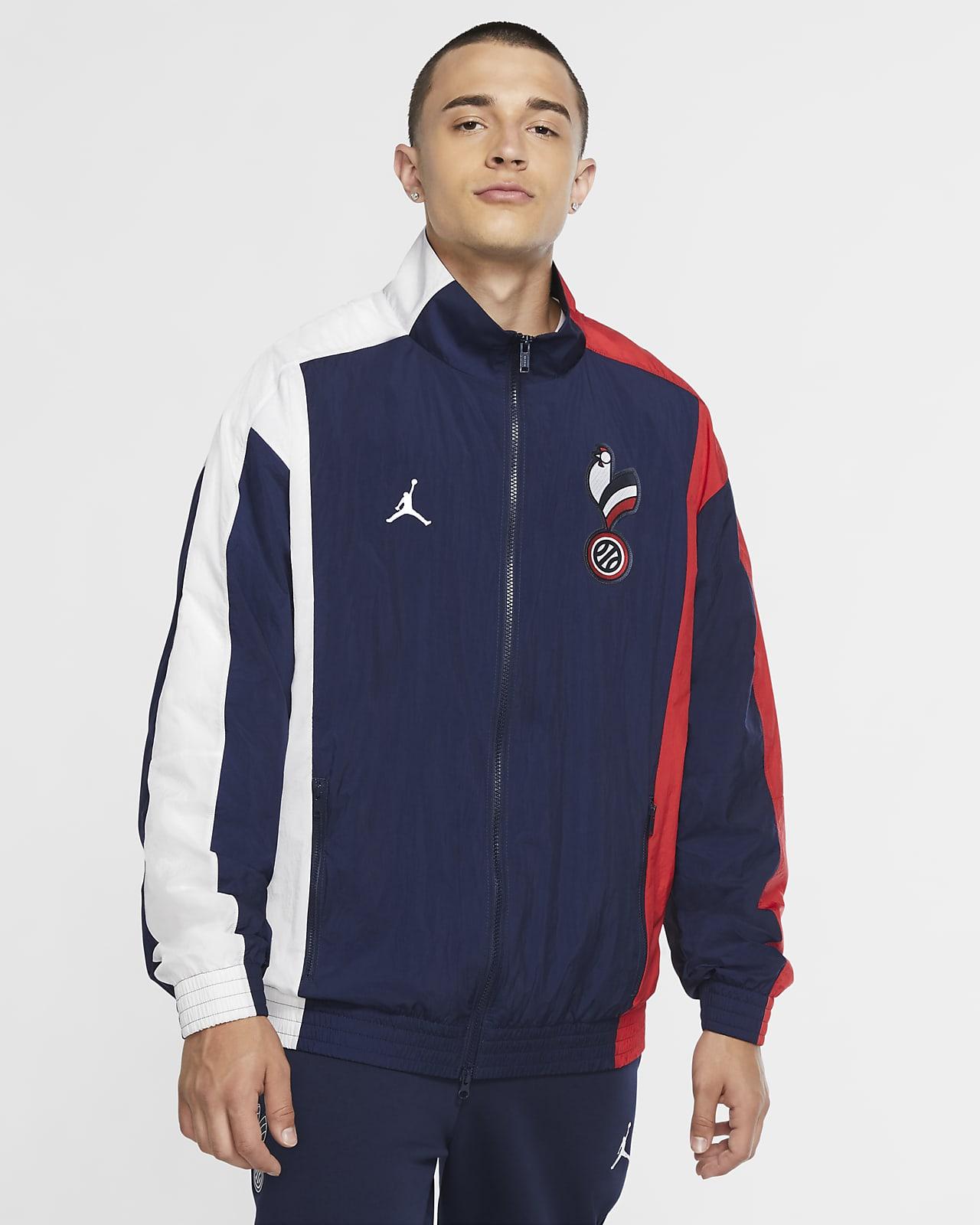 Frankreich Air Jordan Herren-Trainingsjacke