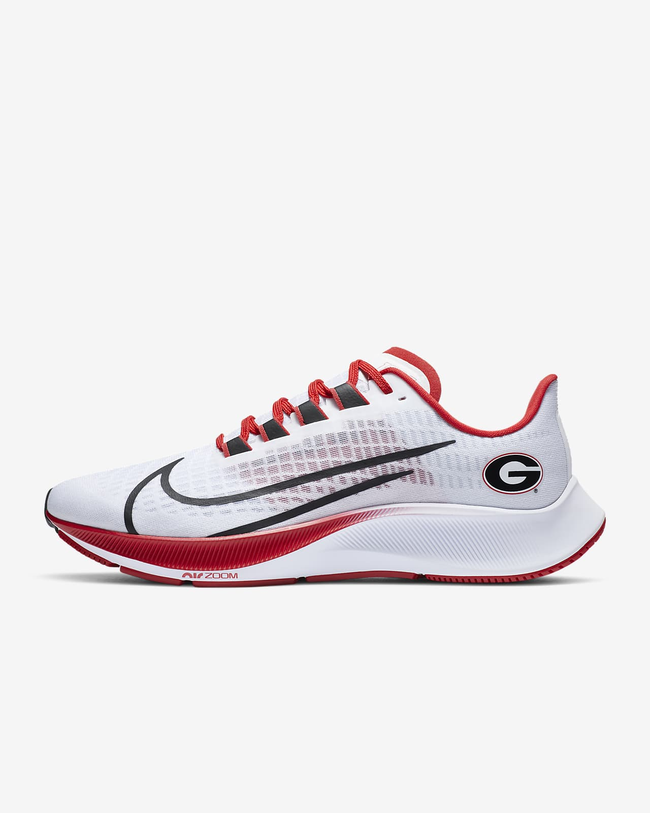 Nike College Zoom Pegasus 37 (Georgia) Running Shoe