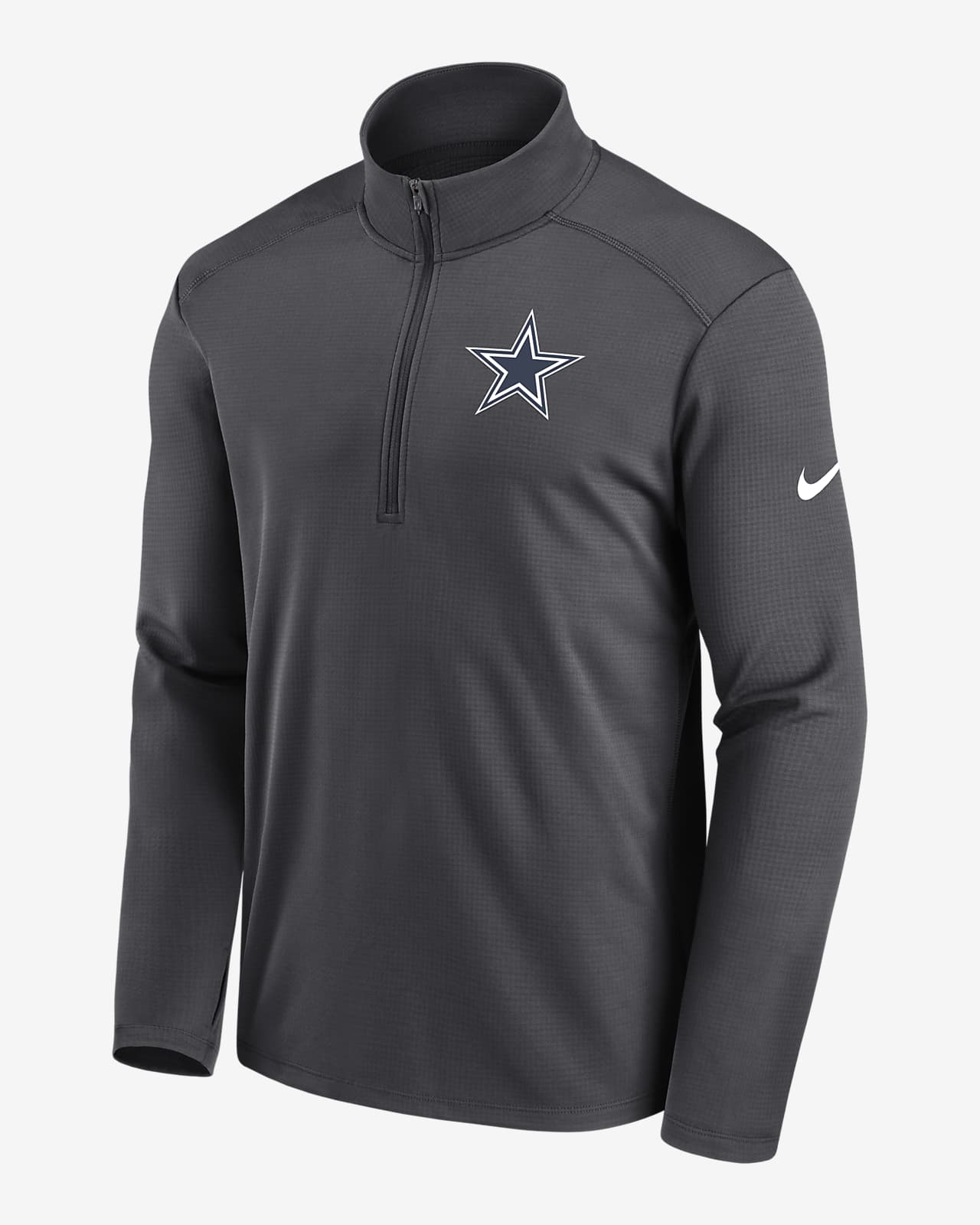 Chamarra con cierre de 1/4 para hombre Nike Dri-FIT Pacer (NFL Dallas Cowboys)