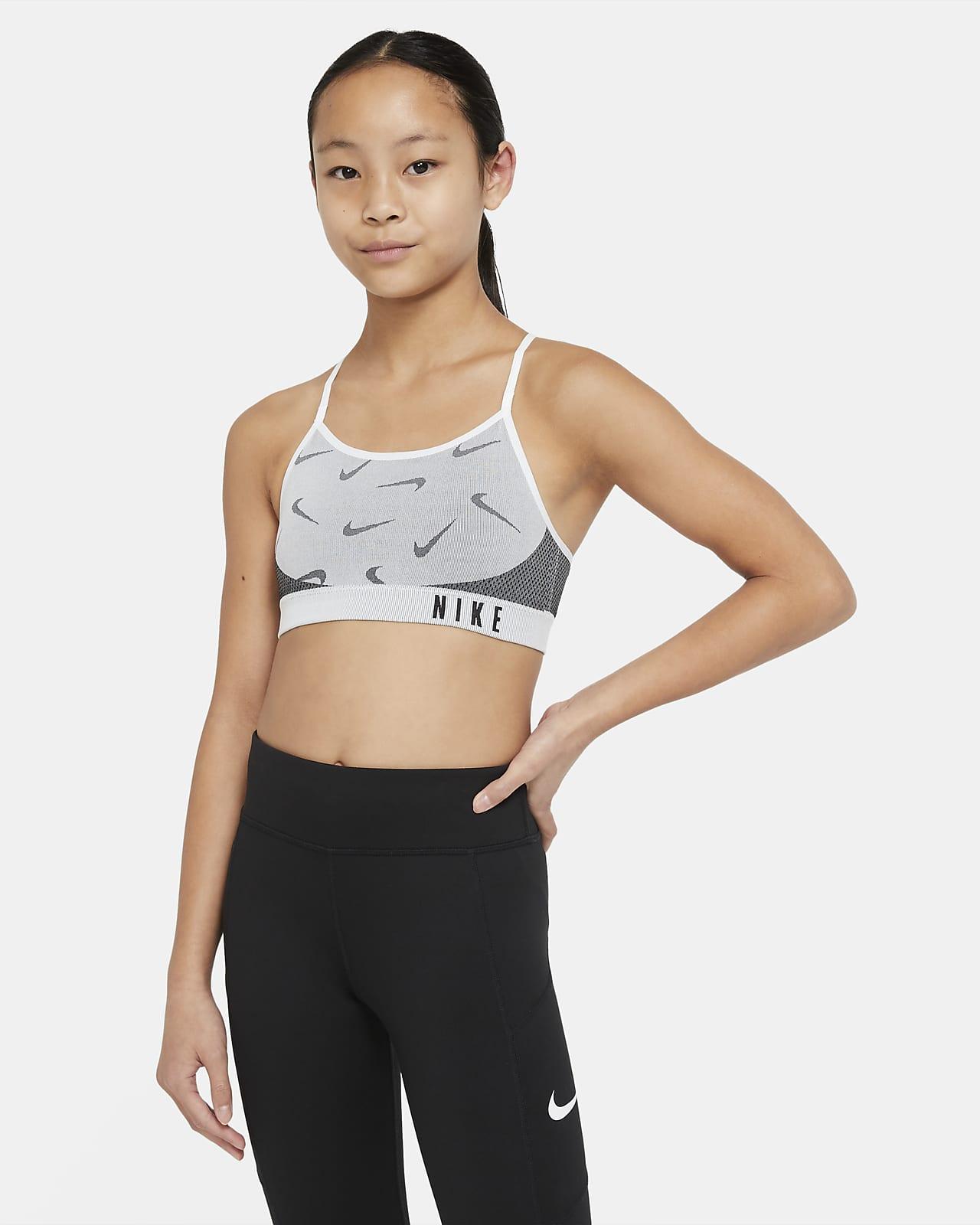 Nike Indy Older Kids' (Girls') Sports Bra