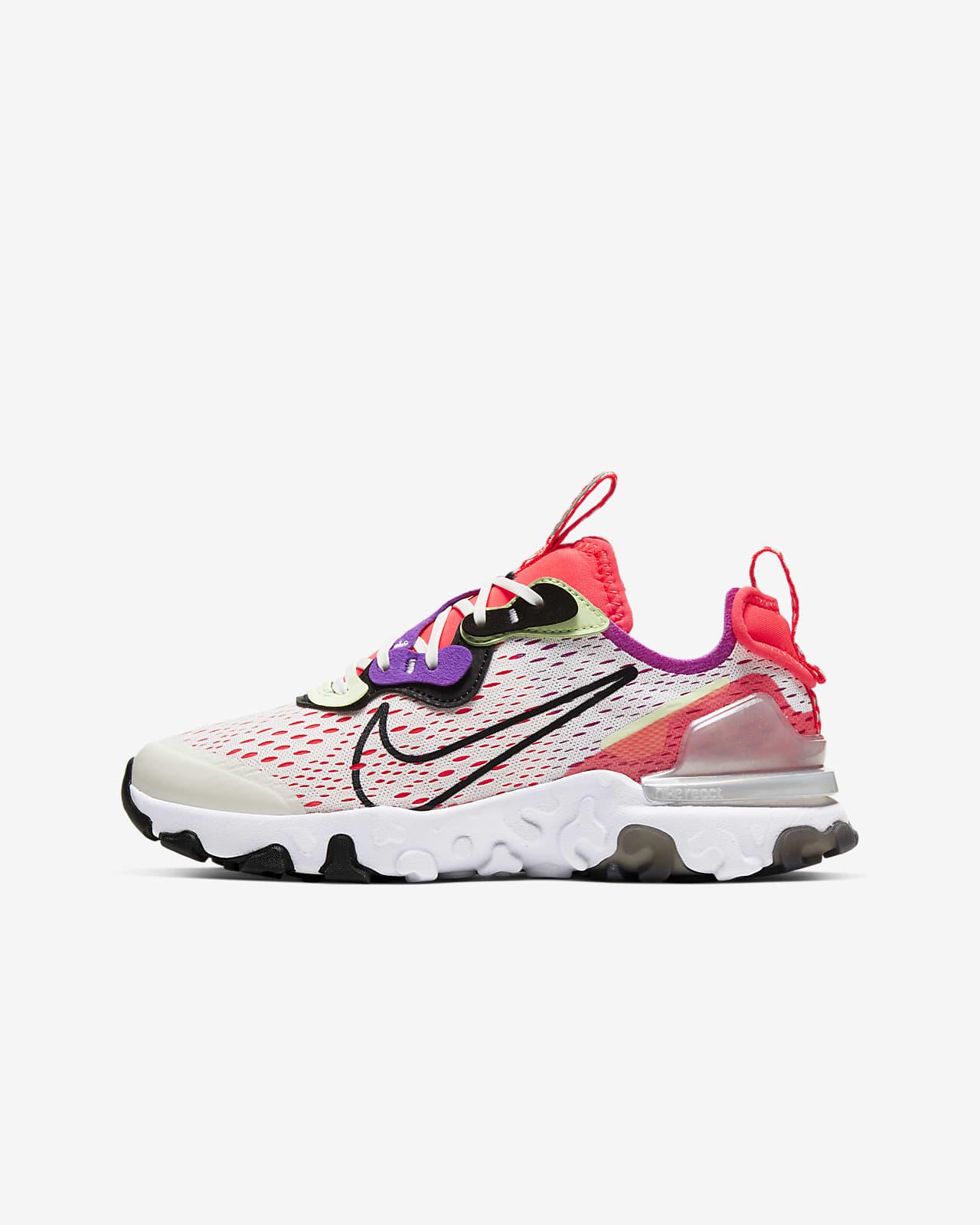 Nike React Vision Older Kids' Shoe. Nike ID