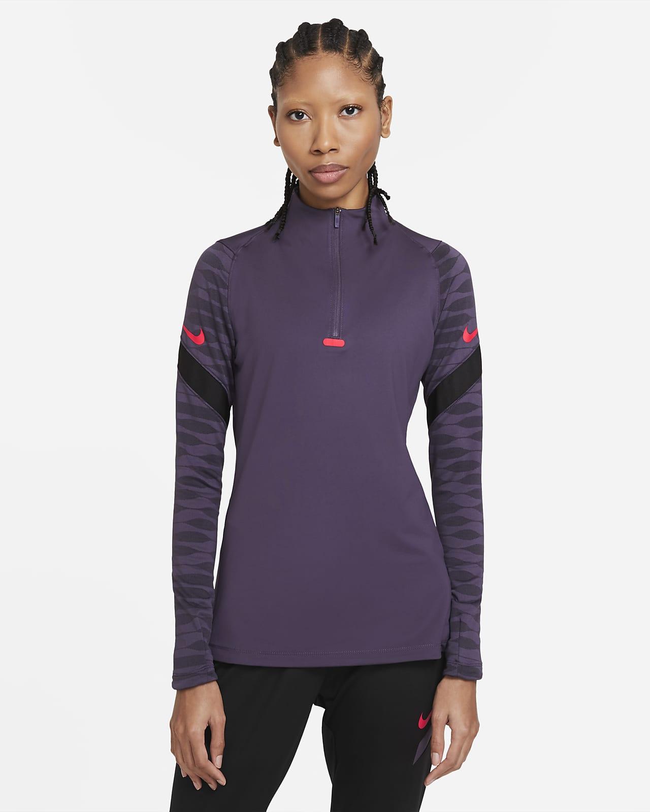 Nike Dri-FIT Strike rövid cipzáras női futball-melegítőfelső