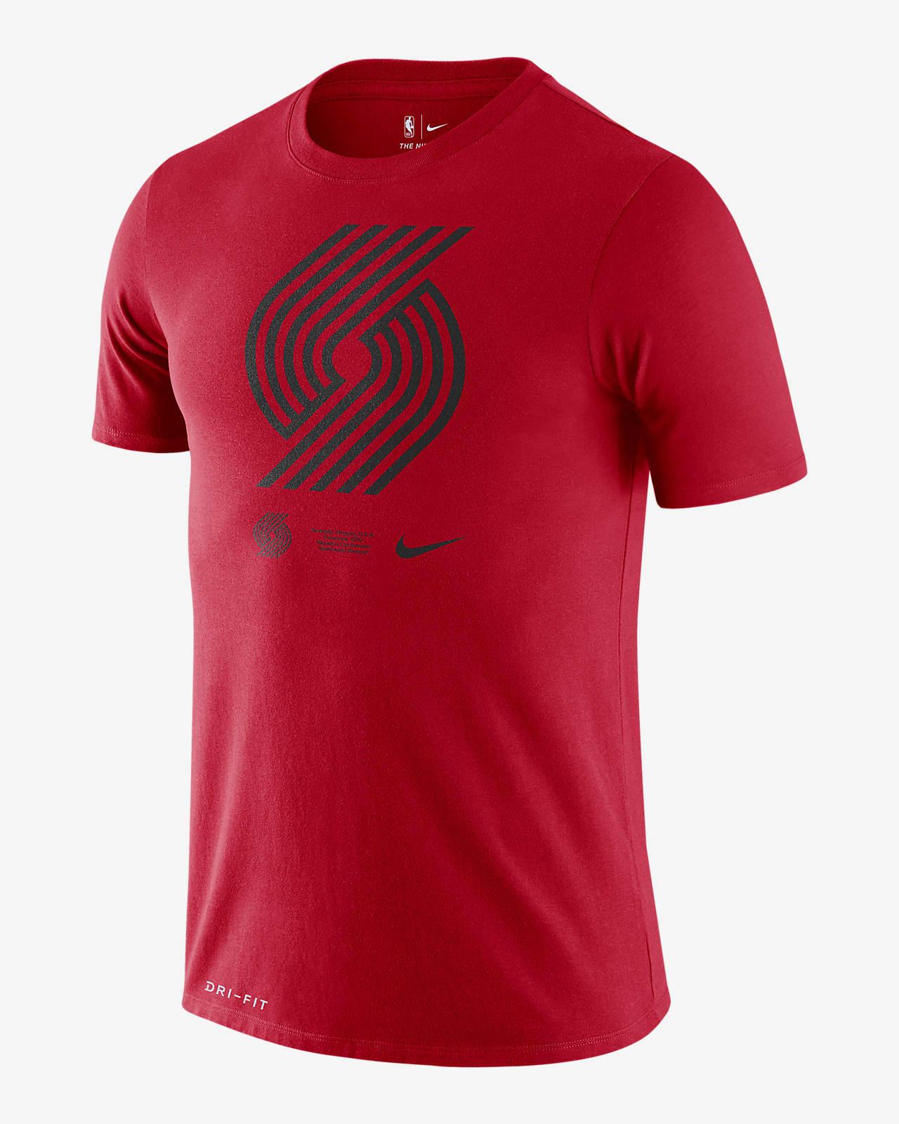 Portland Trail Blazers Logo Men's Nike Dri-FIT NBA T-Shirt