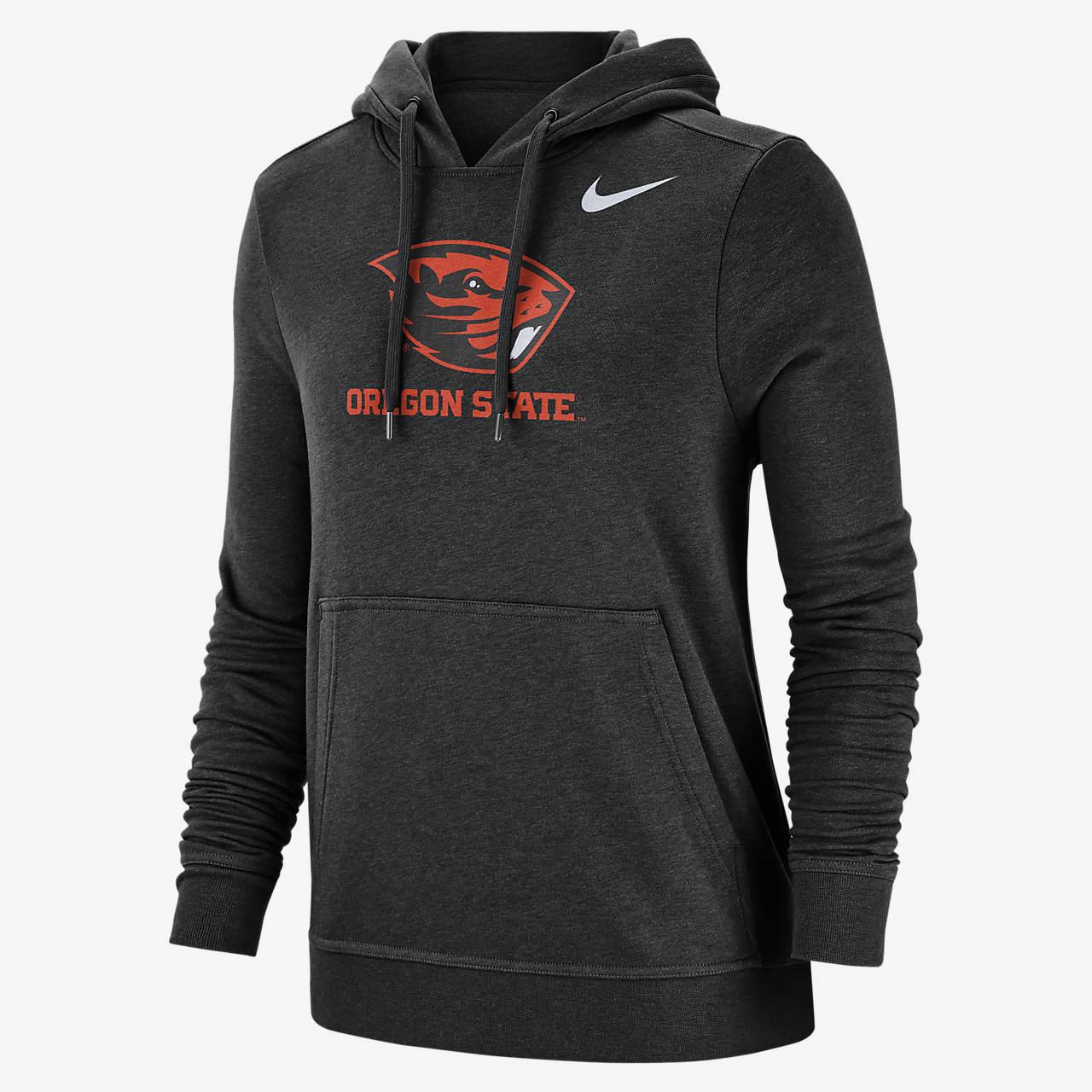 Nike College Club Fleece (Oregon State) Women's Pullover Hoodie