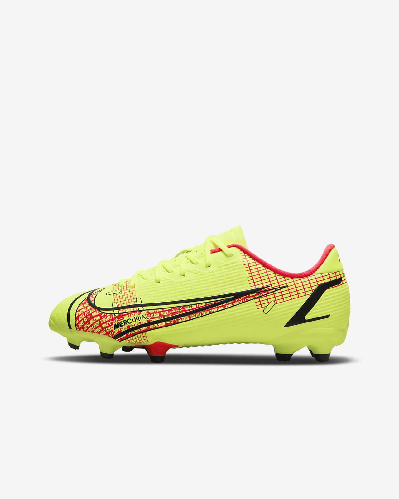 Nike Jr. Mercurial Vapor 14 Academy FG/MG Fußballschuh für verschiedene Böden für jüngere/ältere Kinder