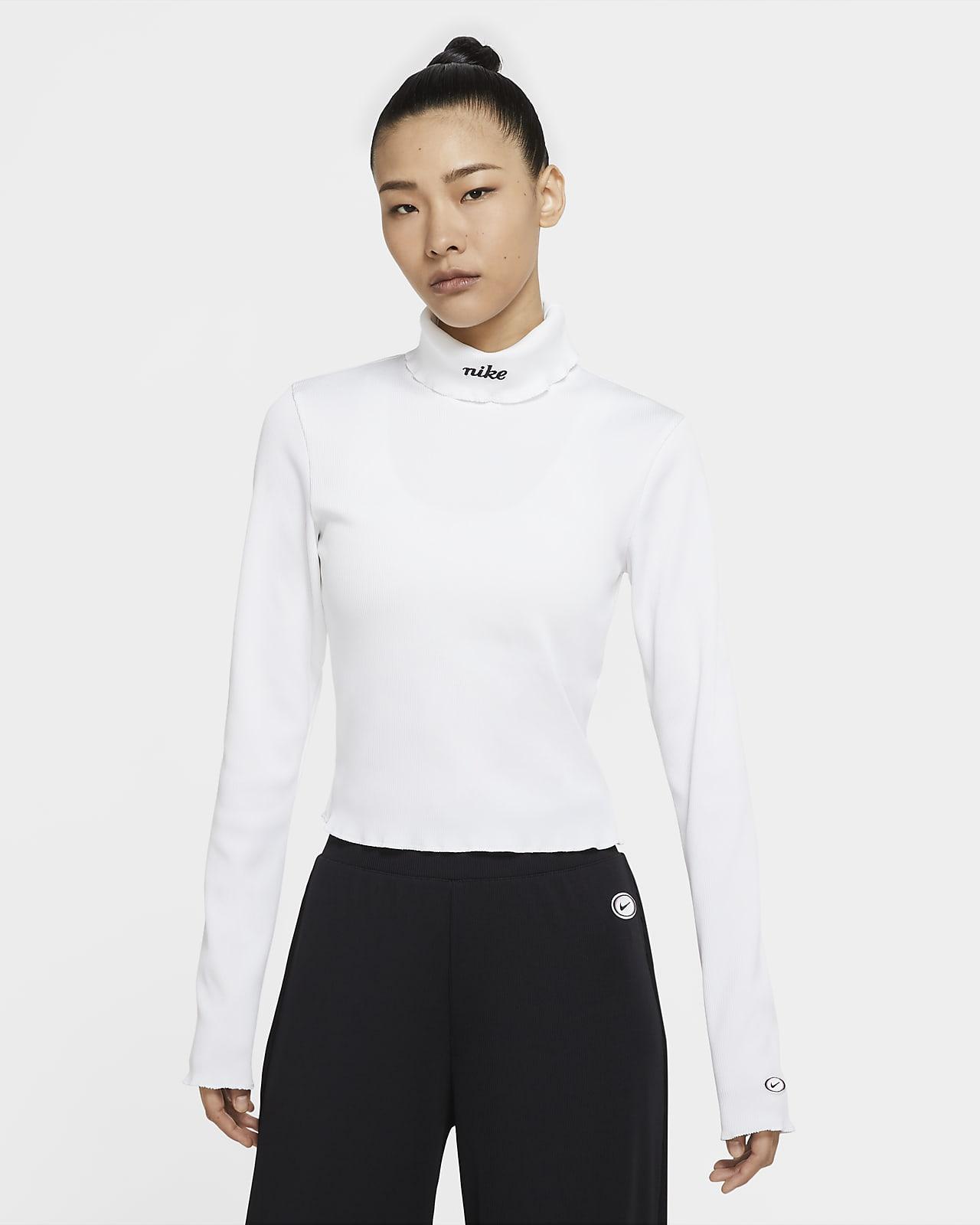 Nike Sportswear Women's Ribbed Long-Sleeve Top