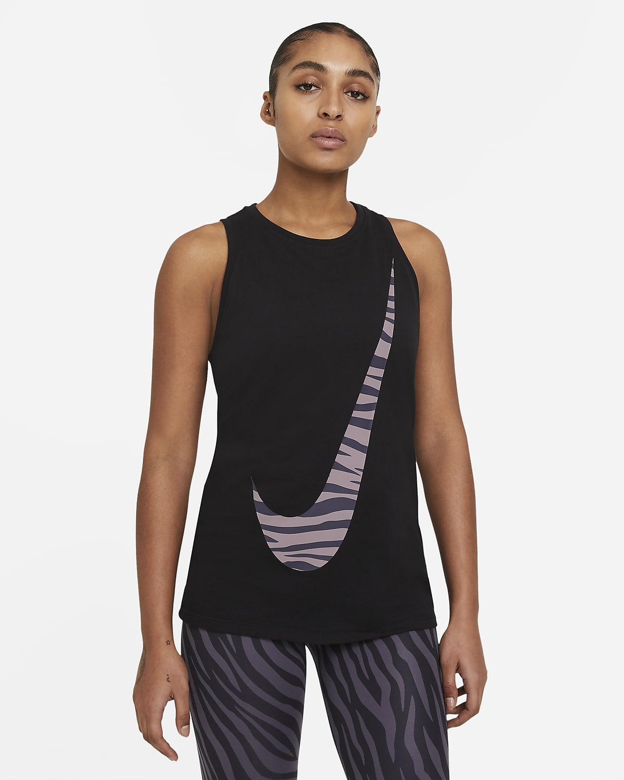 Nike Dri-FIT Icon Clash Samarreta de tirants estampada - Dona