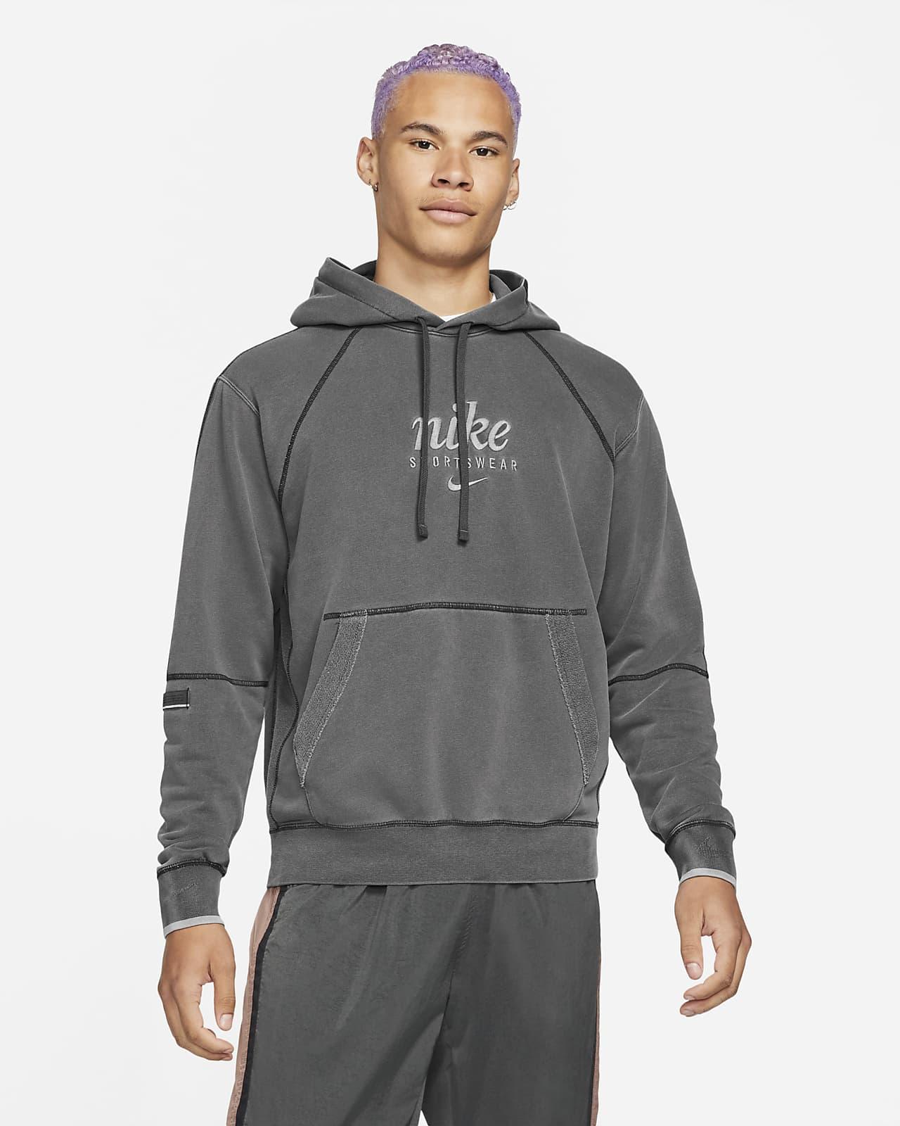 Sudadera con capucha sin cierre de French Terry para hombre Nike Sportswear Club
