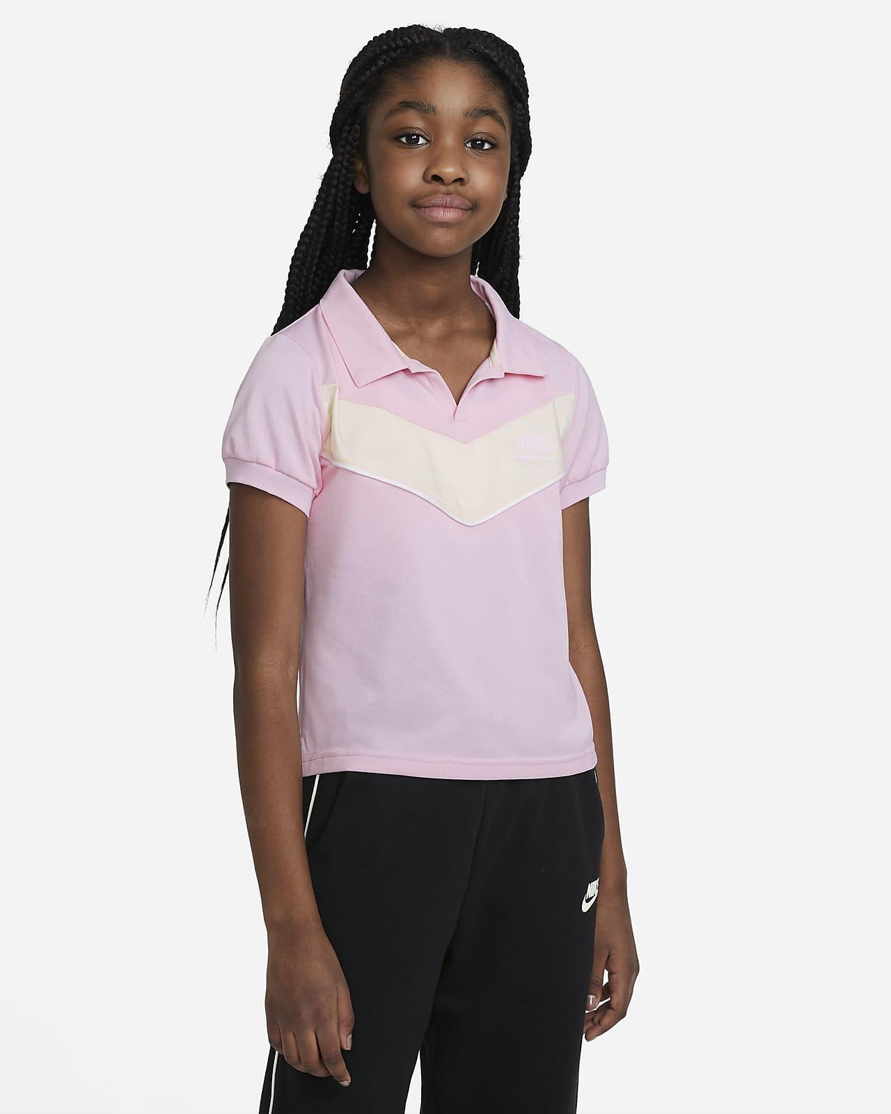 Polo Nike Sportswear Heritage pour Fille plus âgée