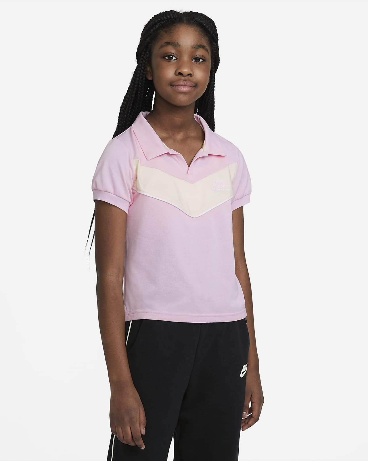 Polokošile Nike Sportswear Heritage pro větší děti (dívky)