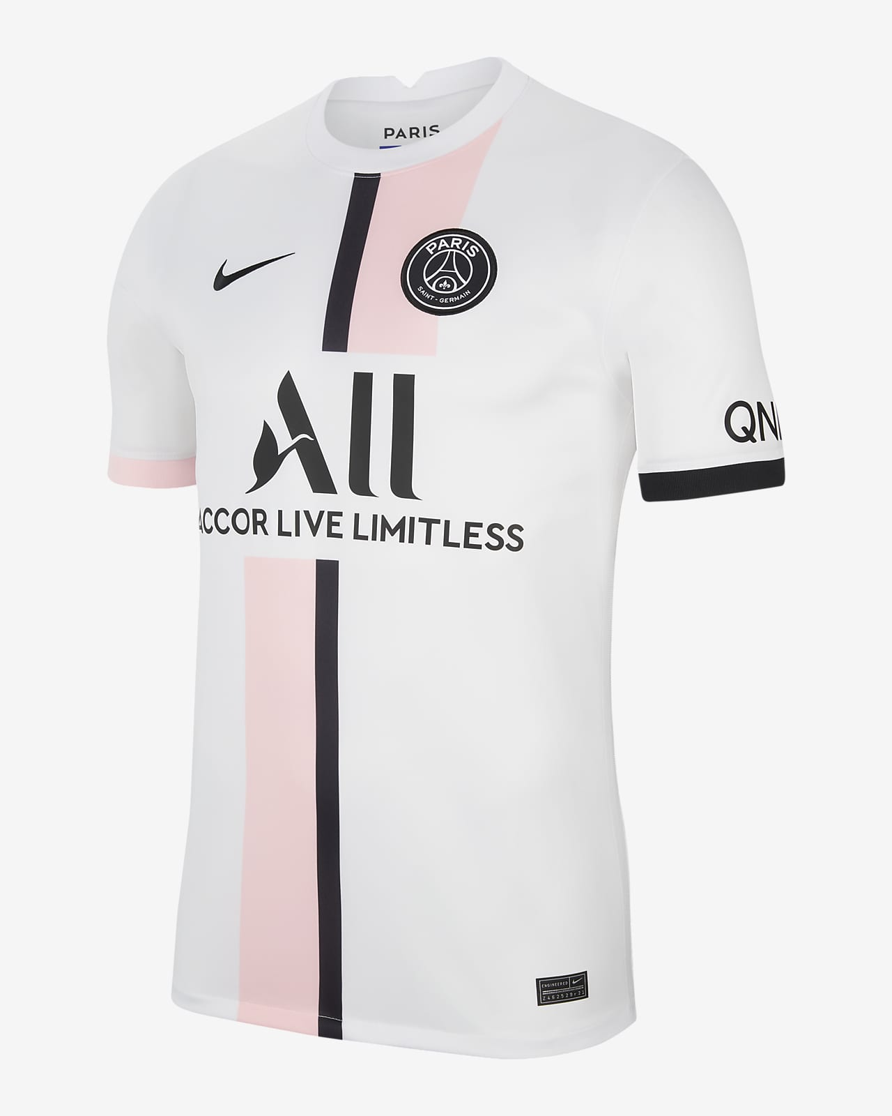 Paris Saint-Germain 2021/22 Stadyum Deplasman Nike Dri-FIT Erkek Futbol Forması