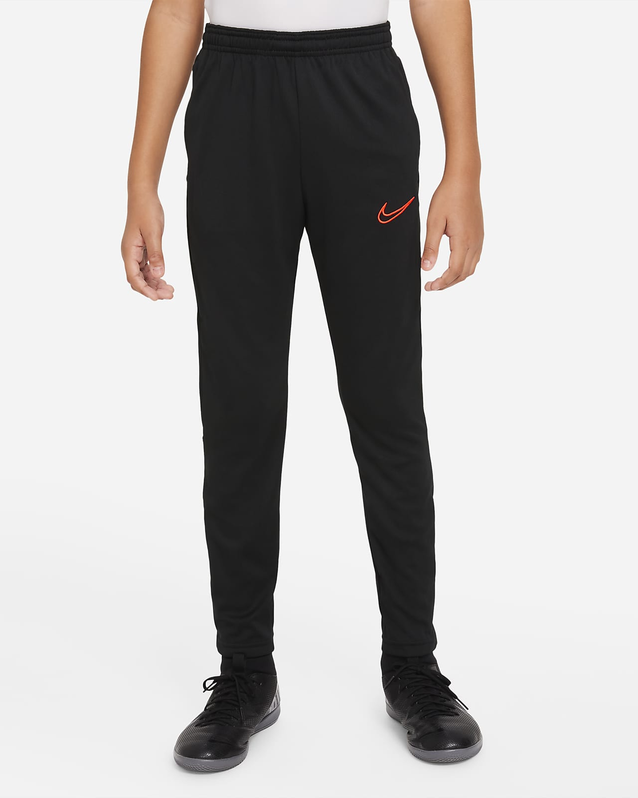 Pants de fútbol tejidos para niños talla grande Nike Dri-FIT Academy