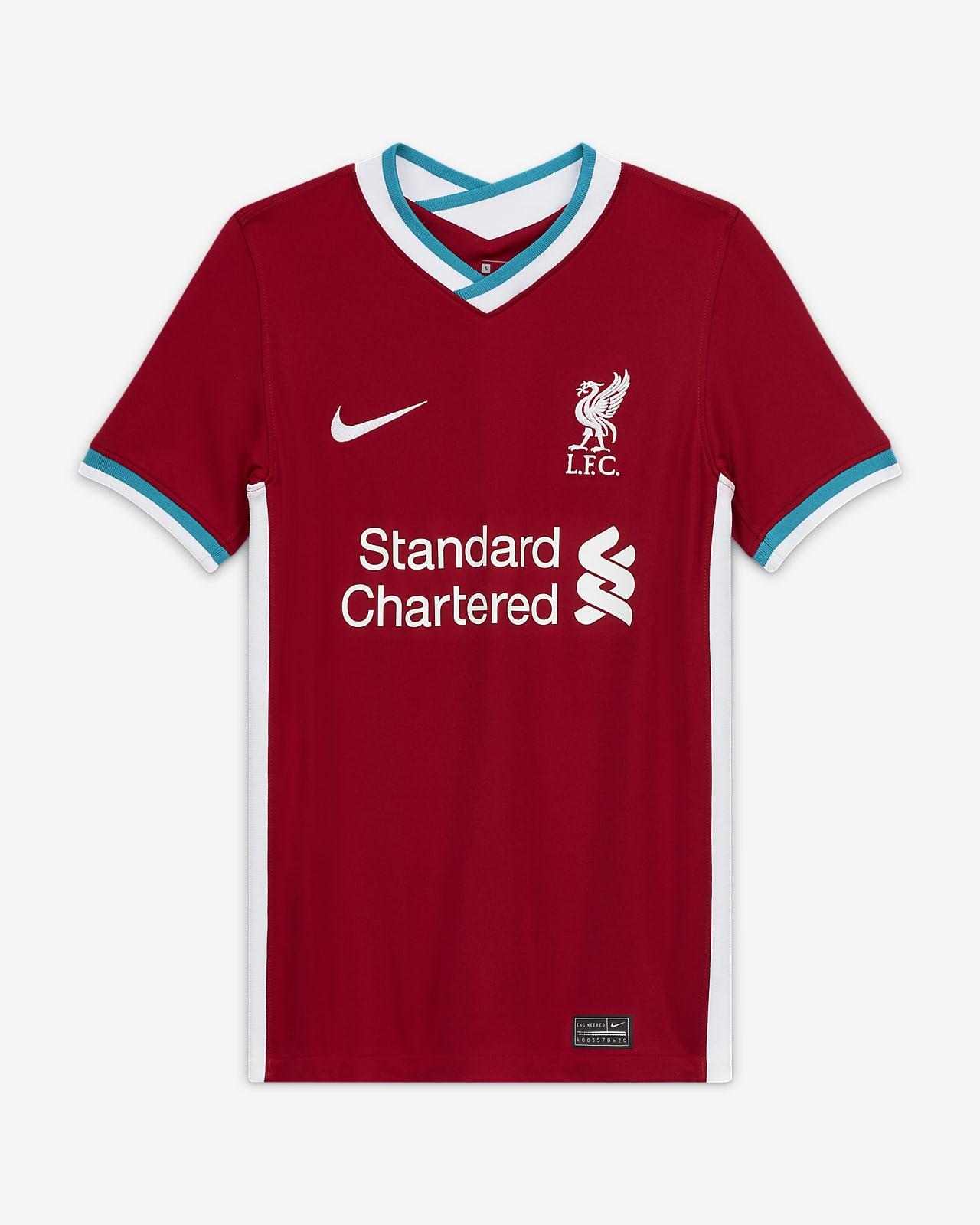 Liverpool FC 2020/21 Stadium Home-fodboldtrøje til store børn