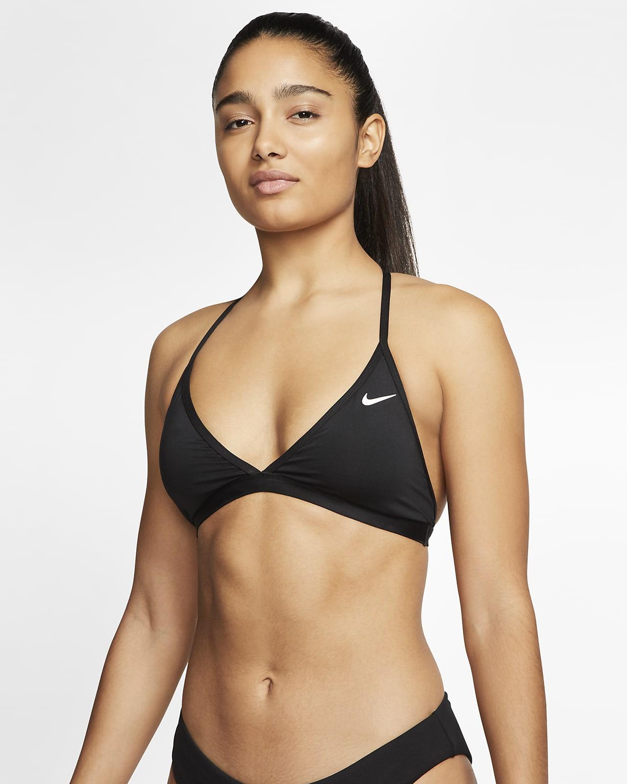 Nike Essential Damen-Bikinioberteil mit T-Rückendesign