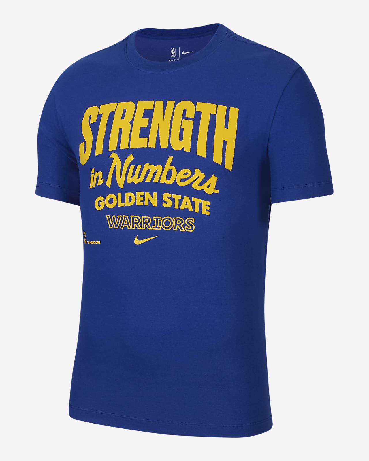 金州勇士队 Mantra Nike Dri-FIT NBA 男子T恤