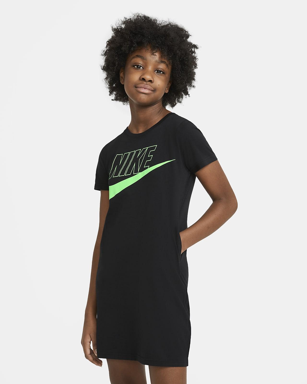 Nike Sportswear Vestido camiseta - Niña