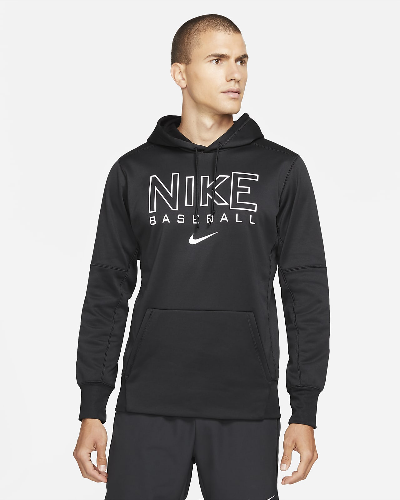 Sudadera con gorro de béisbol para hombre Nike Therma-FIT