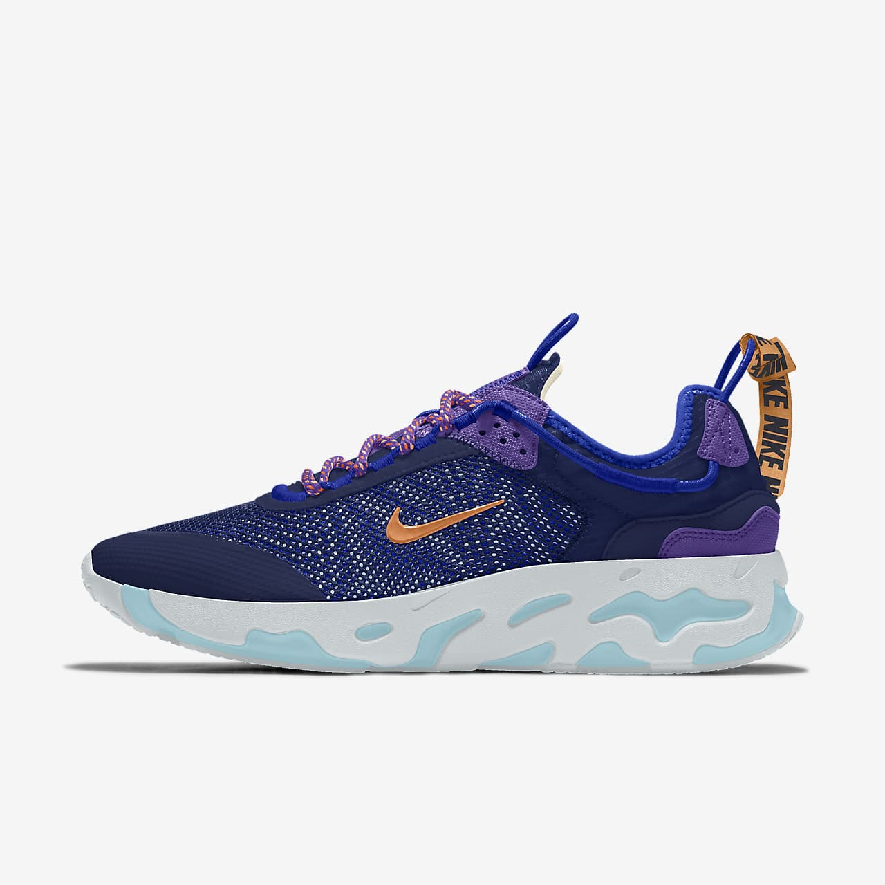 Nike React Live By You egyedi cipő
