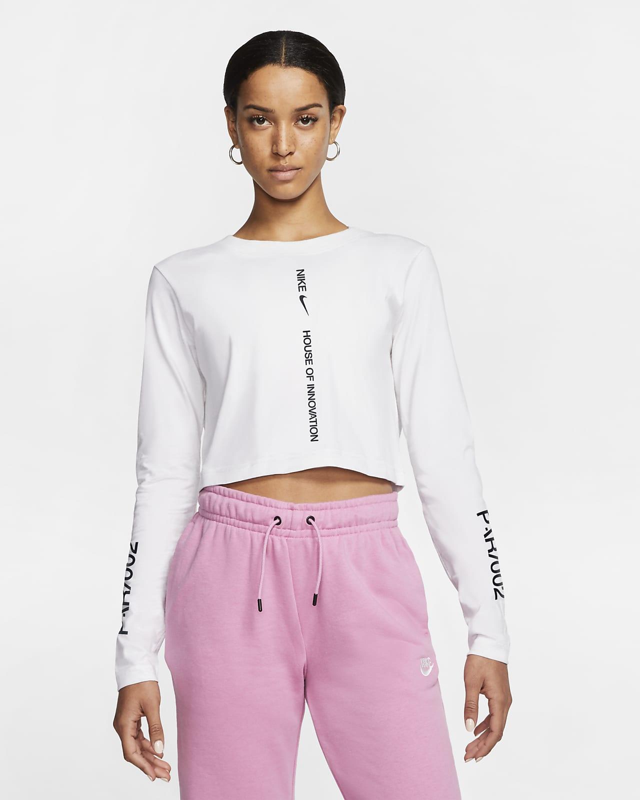 Nike Sportswear House of Innovation (Paris) Camiseta corta de manga larga - Mujer
