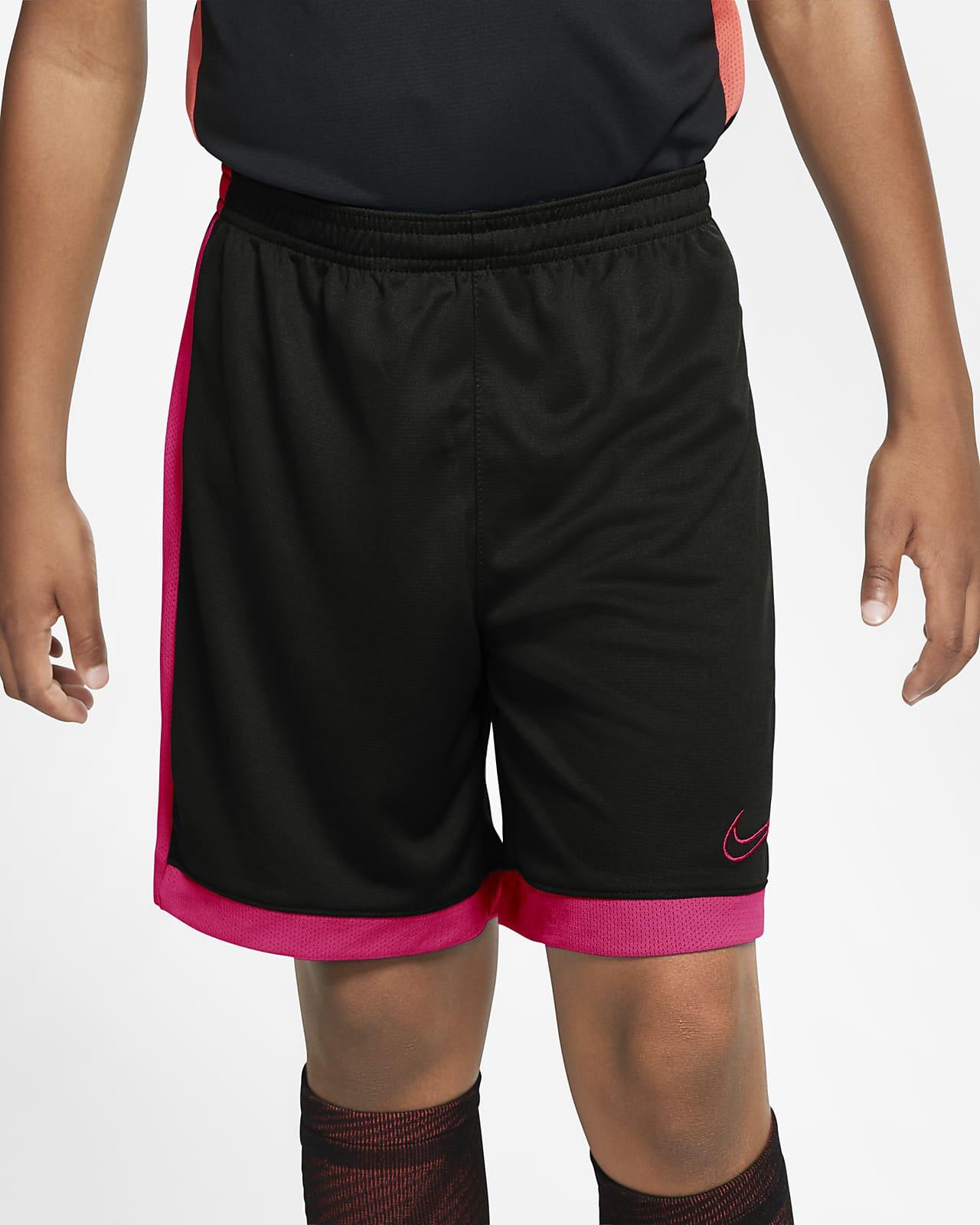 กางเกงฟุตบอลขาสั้นเด็กโต Nike Dri-FIT Academy