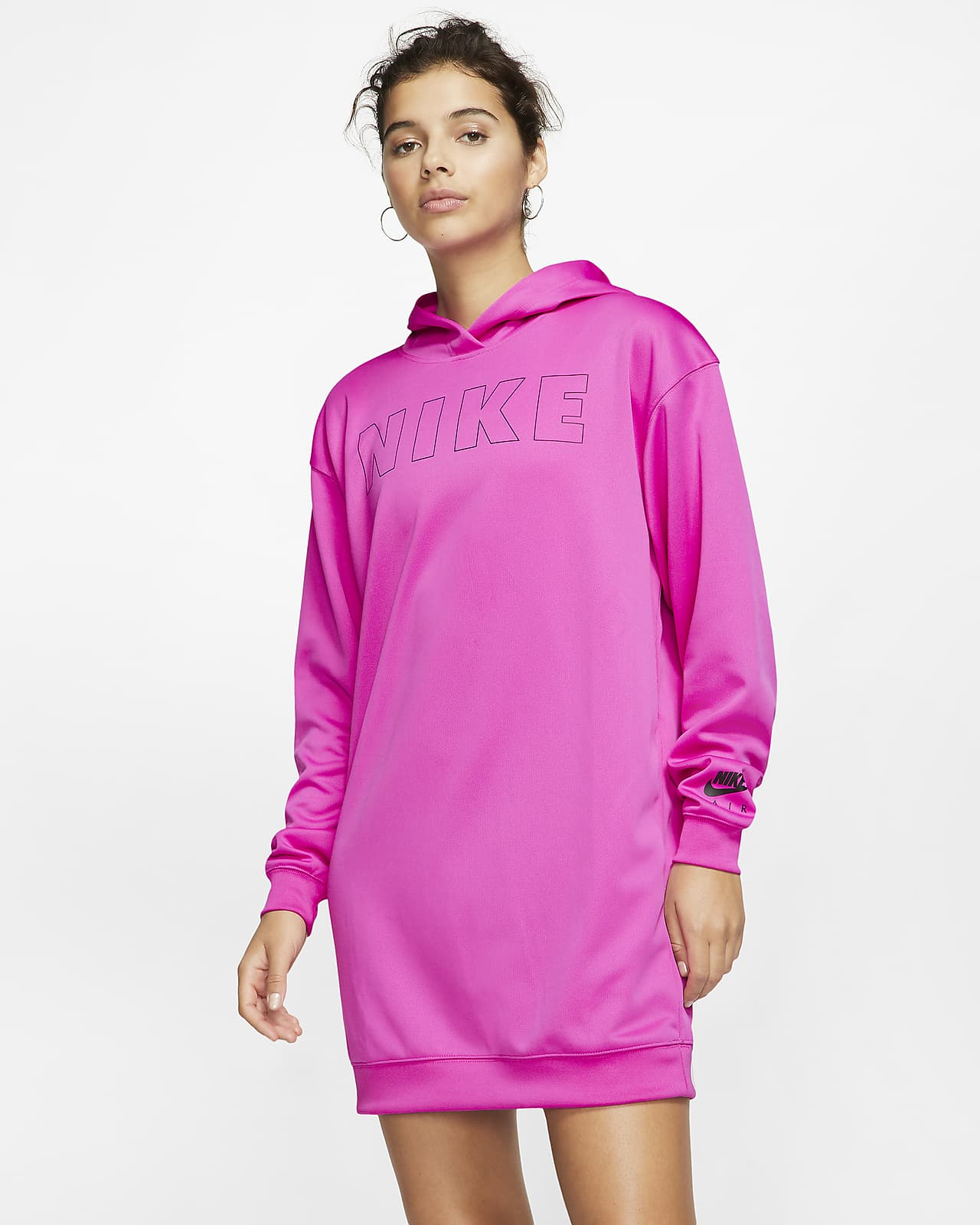 Dámské šaty Nike Air s kapucí