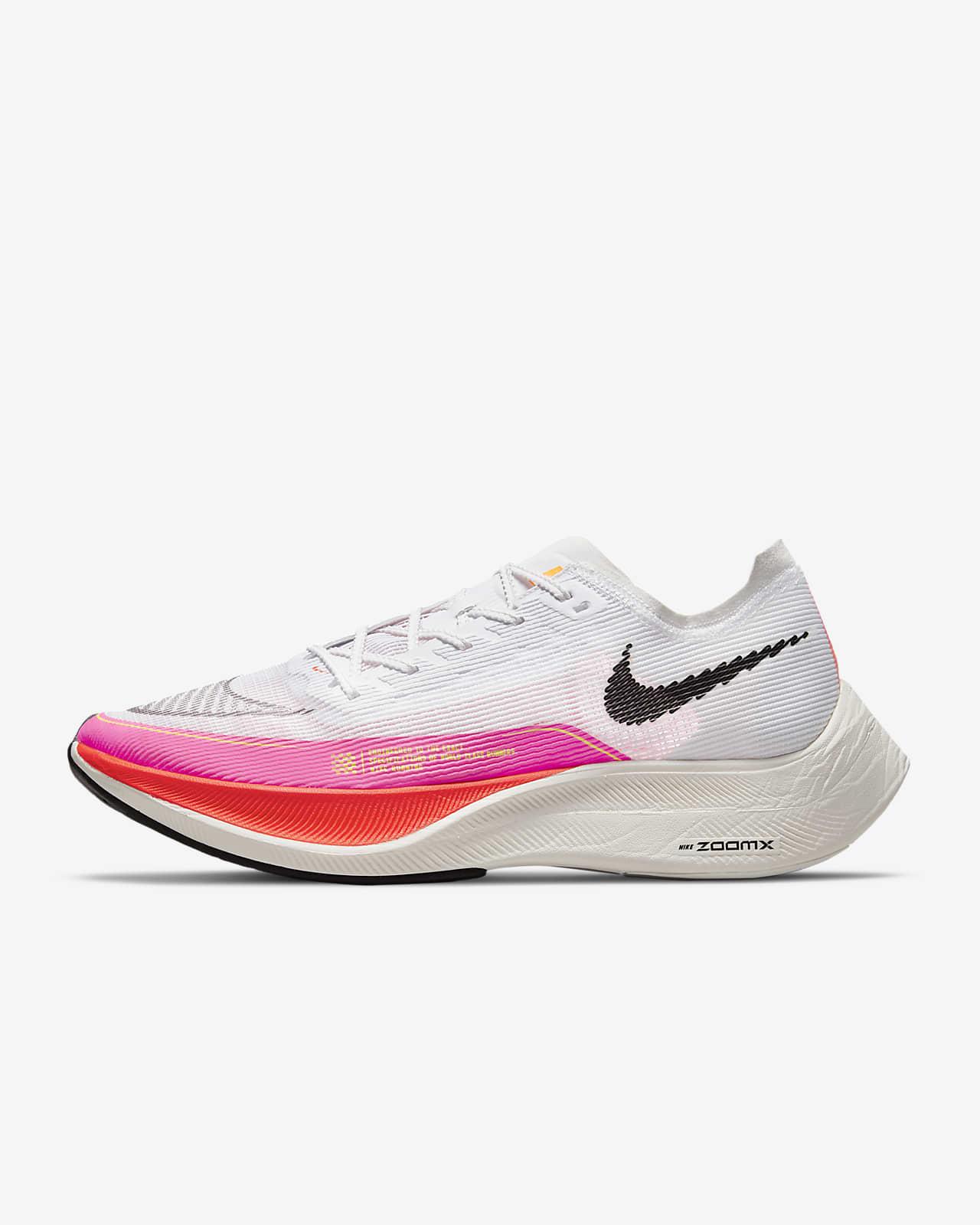 รองเท้าวิ่งโร้ดเรซซิ่งผู้ชาย Nike ZoomX Vaporfly Next% 2