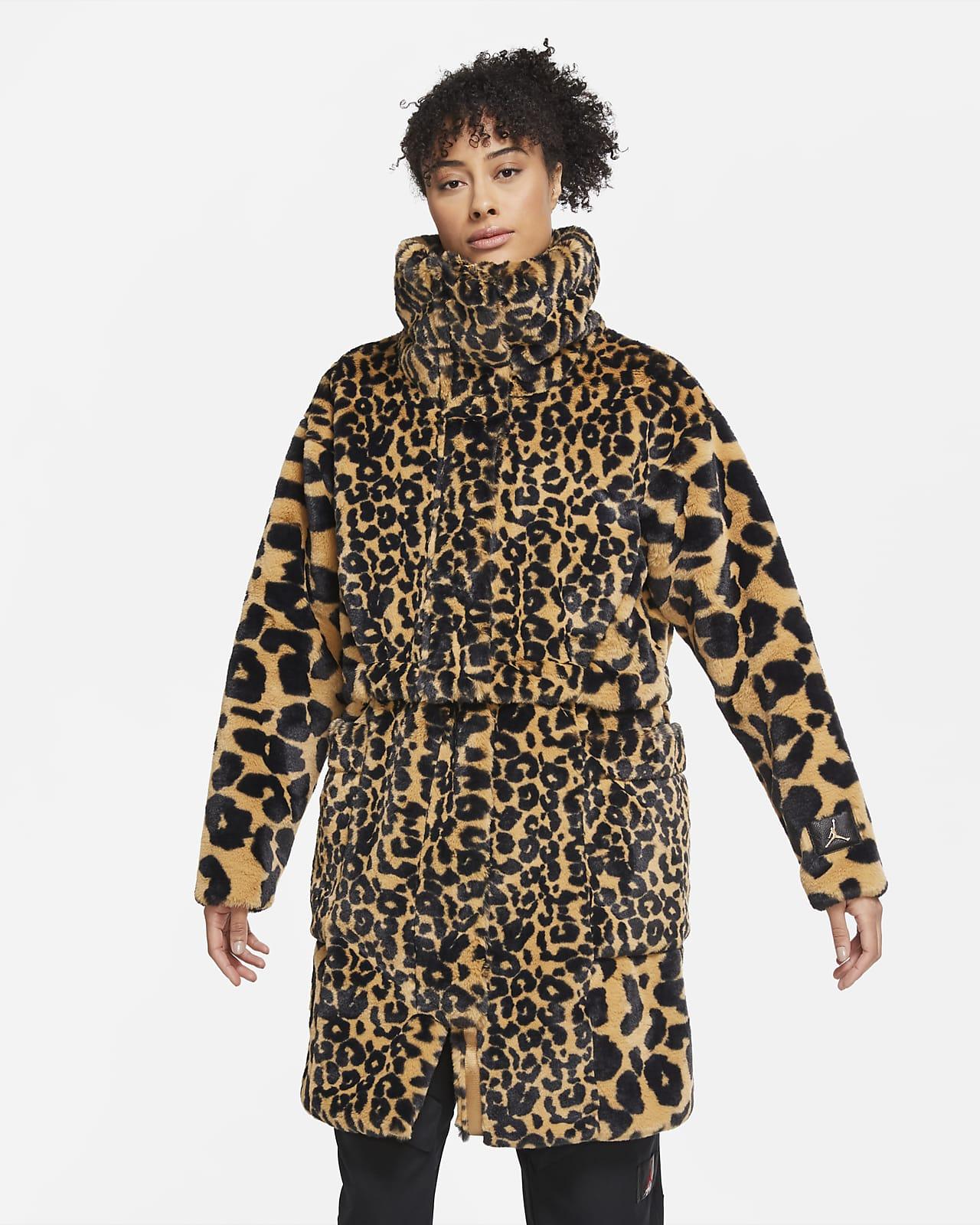 Женская куртка из синтетического меха Jordan Court-To-Runway