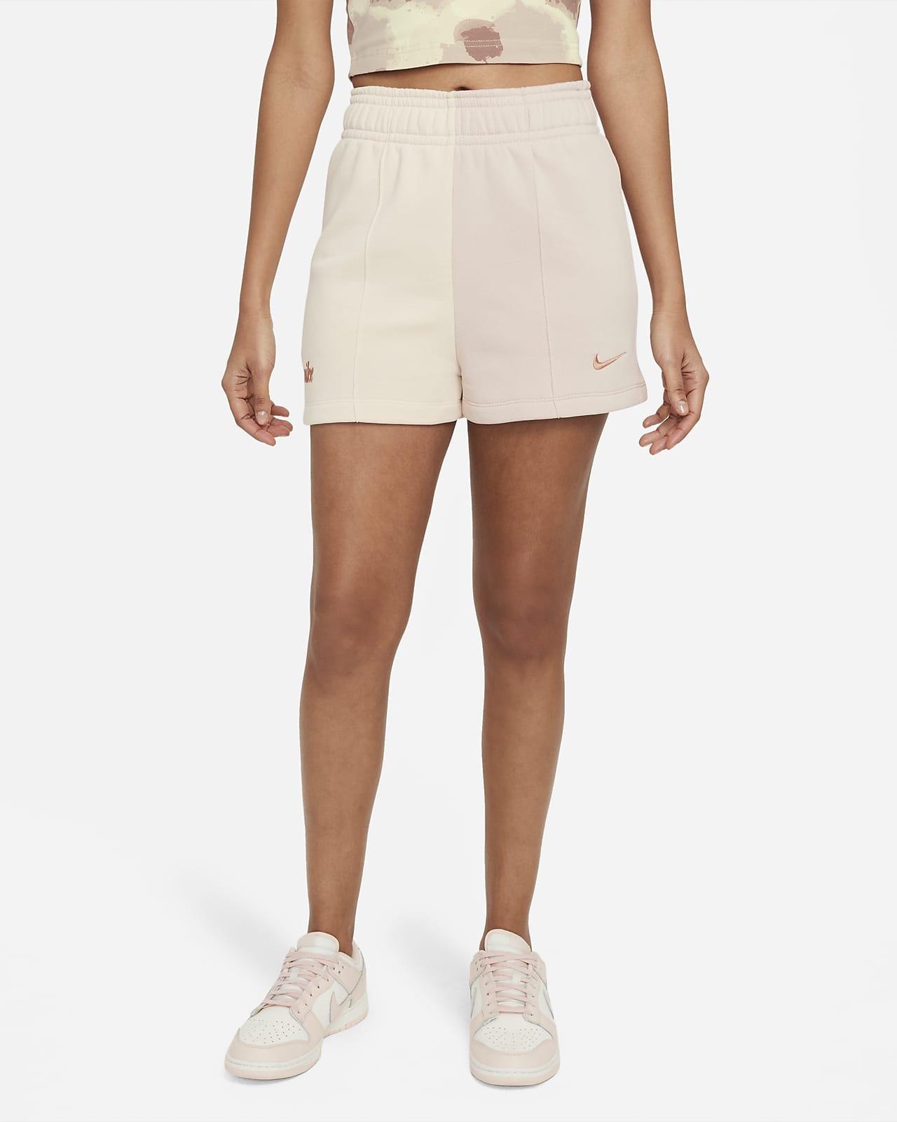Shorts de tejido Fleece para mujer Nike Sportswear