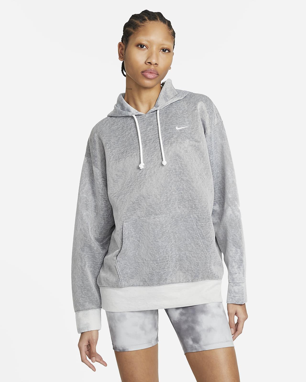 Sudadera con capucha de entrenamiento sin cierre para mujer Nike Icon Clash