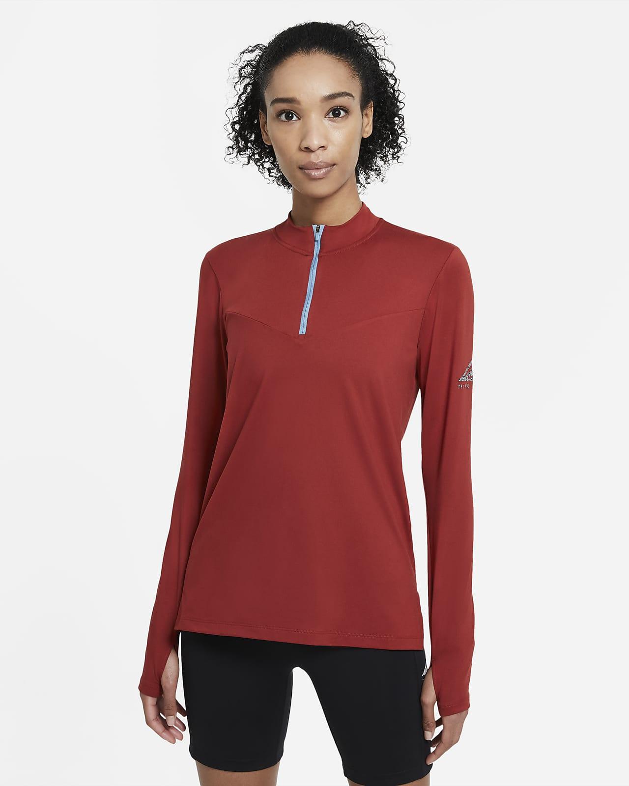 Haut intermédiaire de trail Nike pour Femme