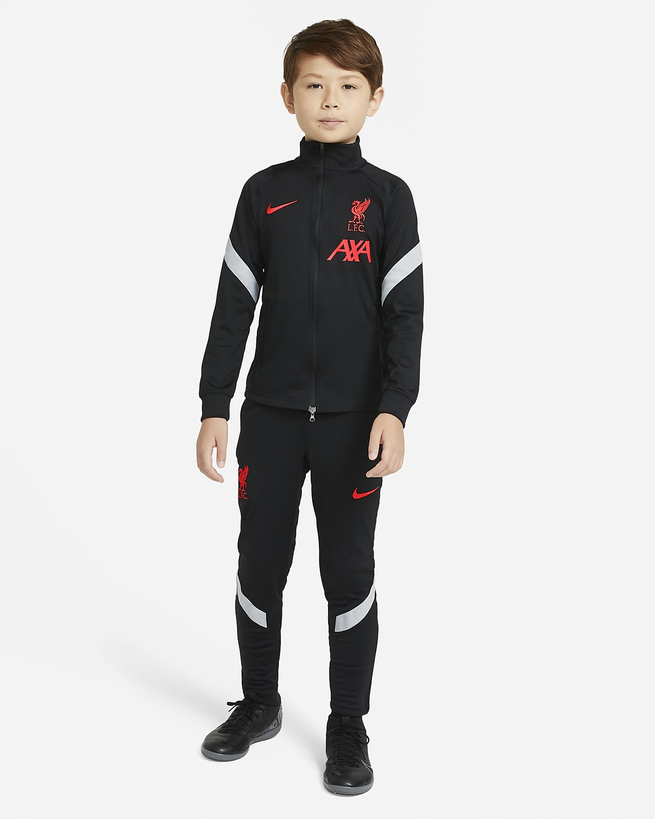 Liverpool F.C. Strike Older Kids' Football Tracksuit