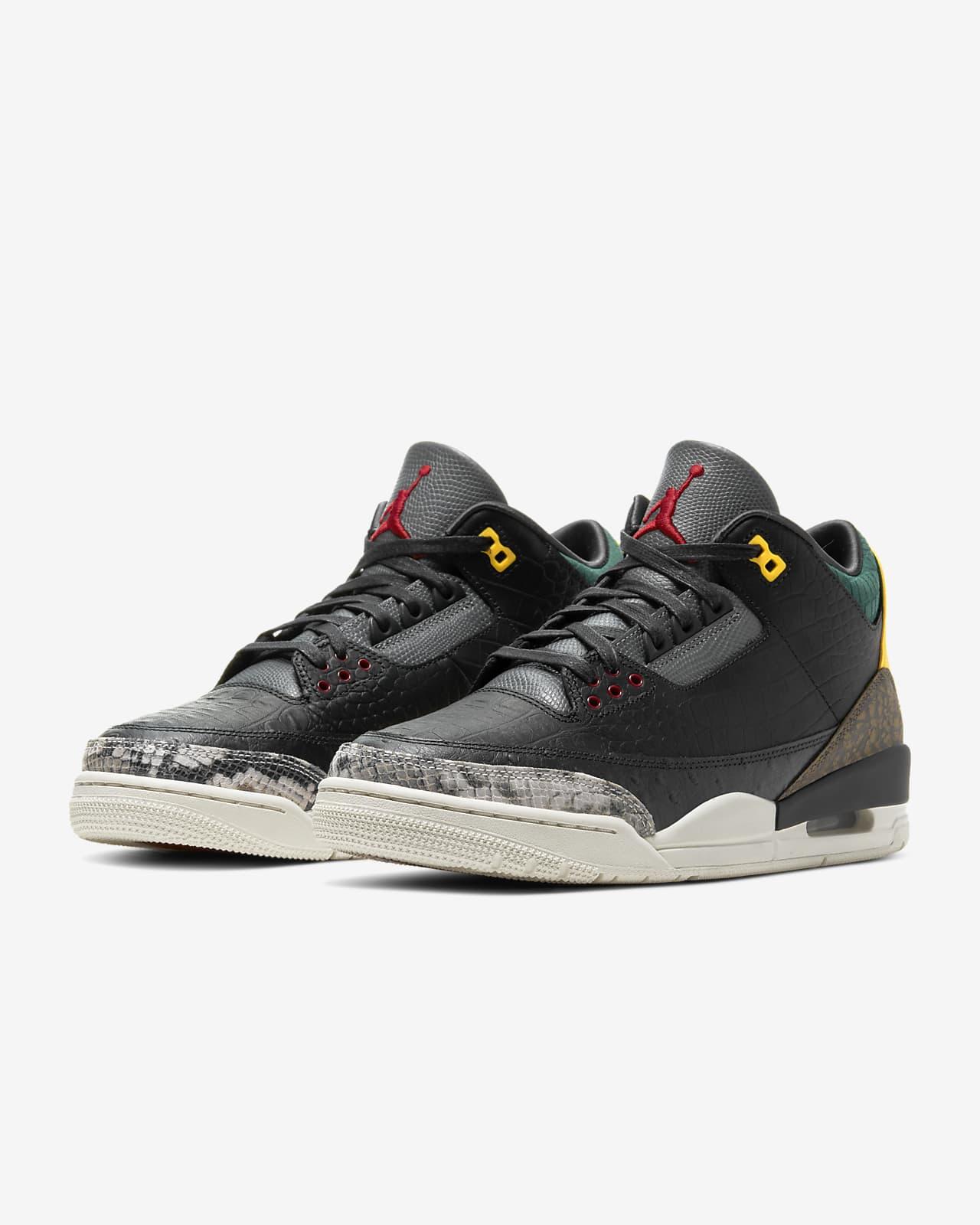 black jordan retro 3