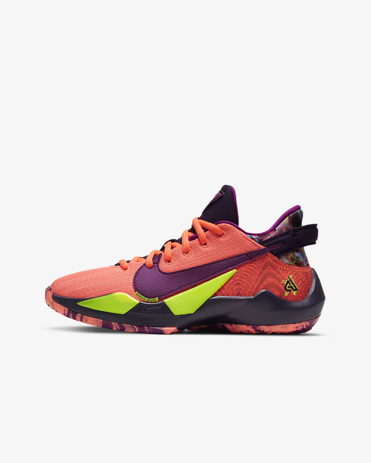 Freak 2 SE 大童籃球鞋
