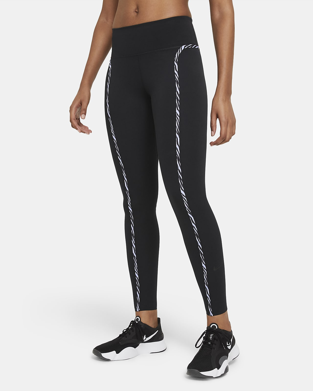 Nike One Luxe Icon Clash leggings til dame