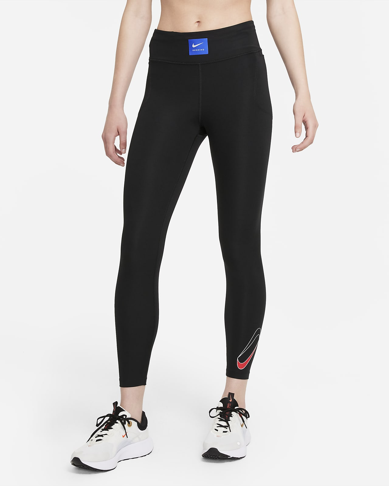 Leggings de running de 7/8 de tiro medio para mujer Nike Dri-FIT Retro Run Faster