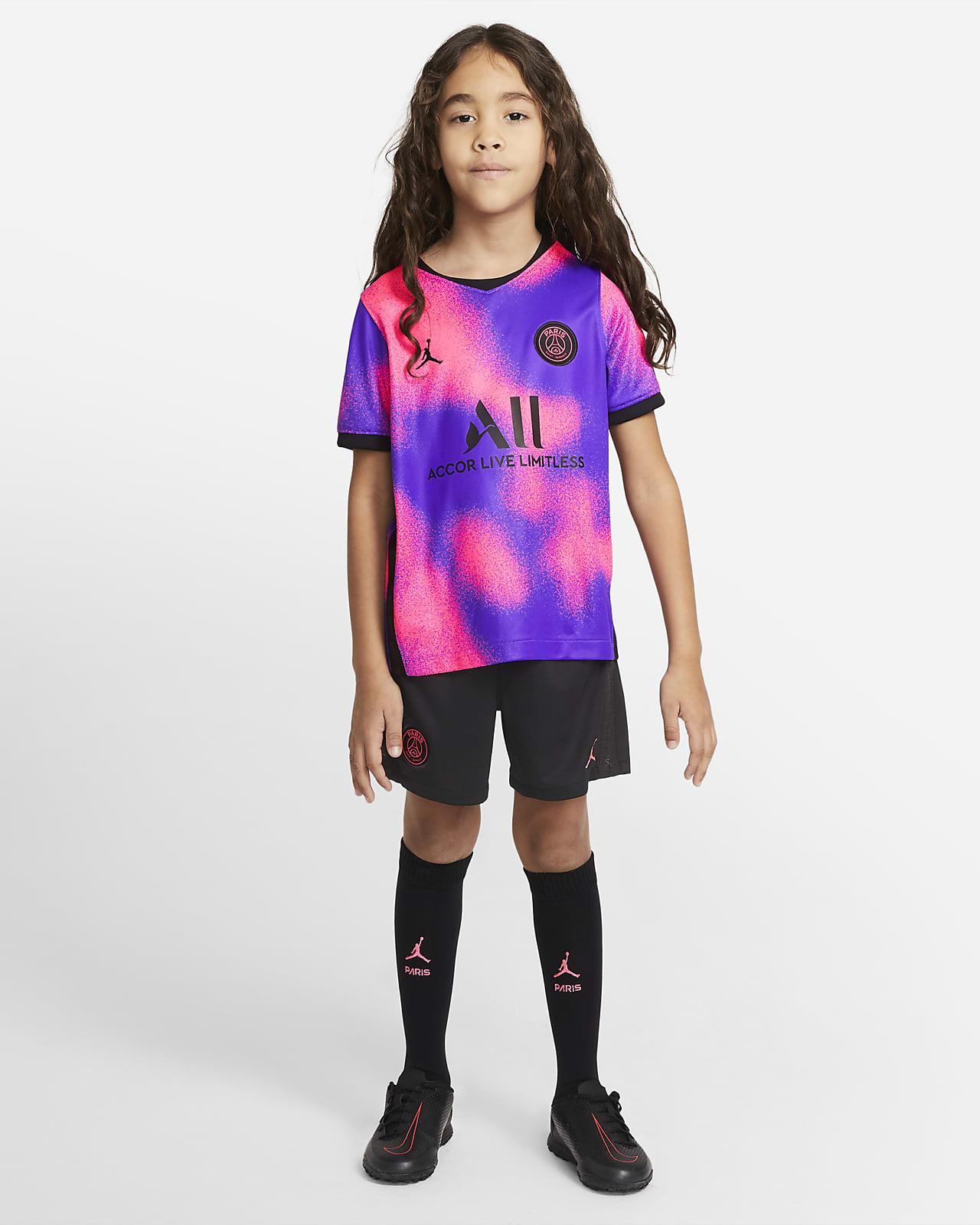 4e tenue de football Paris Saint-Germain 2021/22 pour Jeune enfant