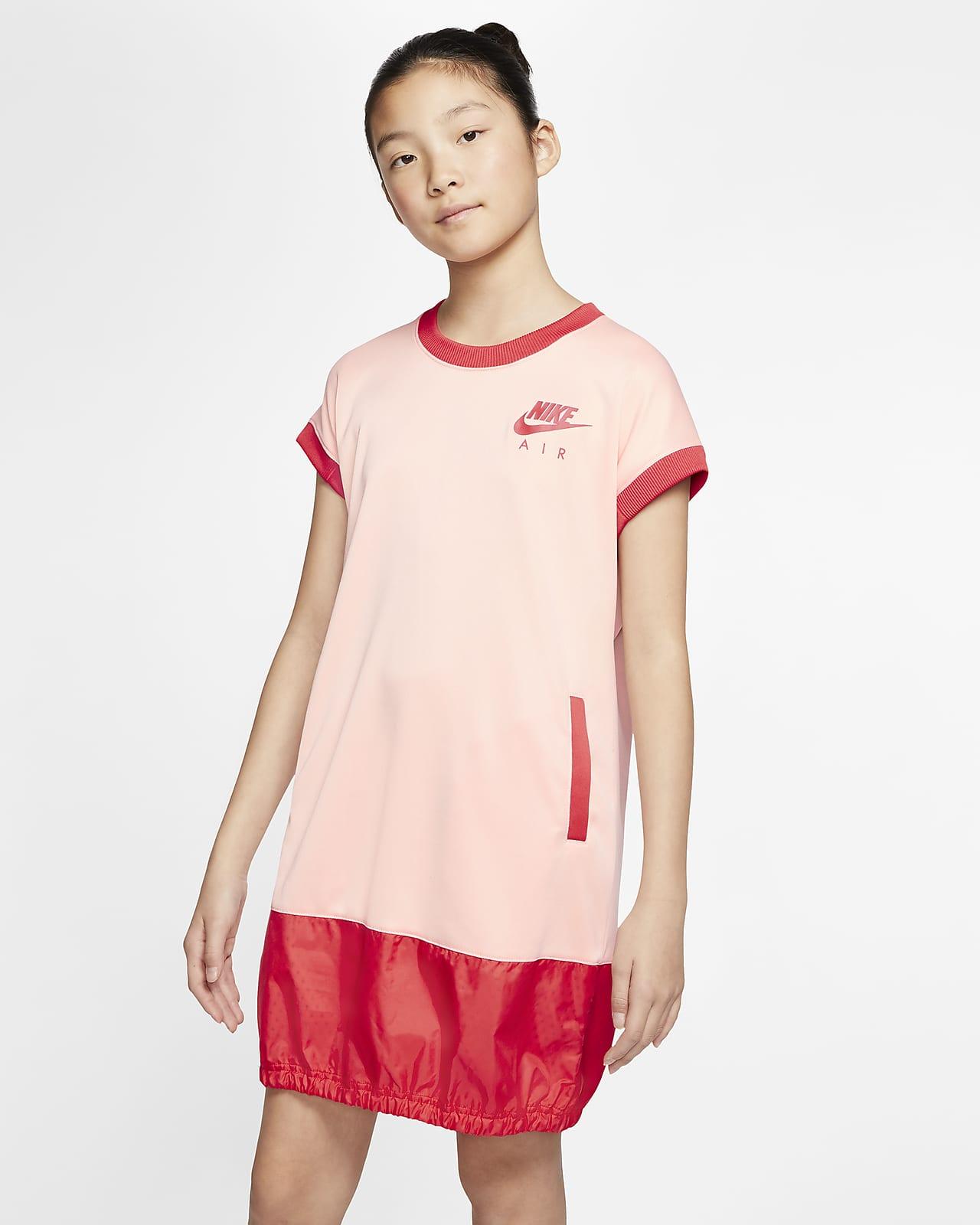 Vestido de manga curta Nike Air Júnior (Rapariga)