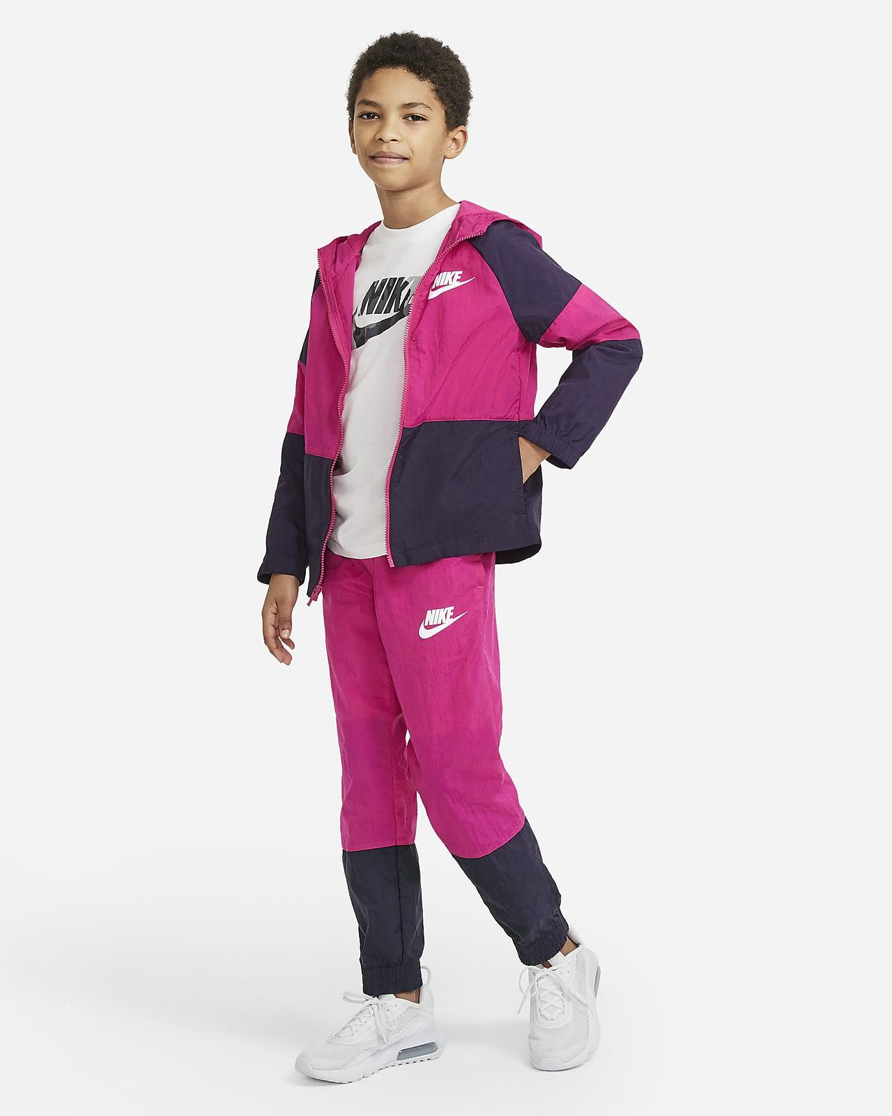 Nike Sportswear 大童梭織運動服