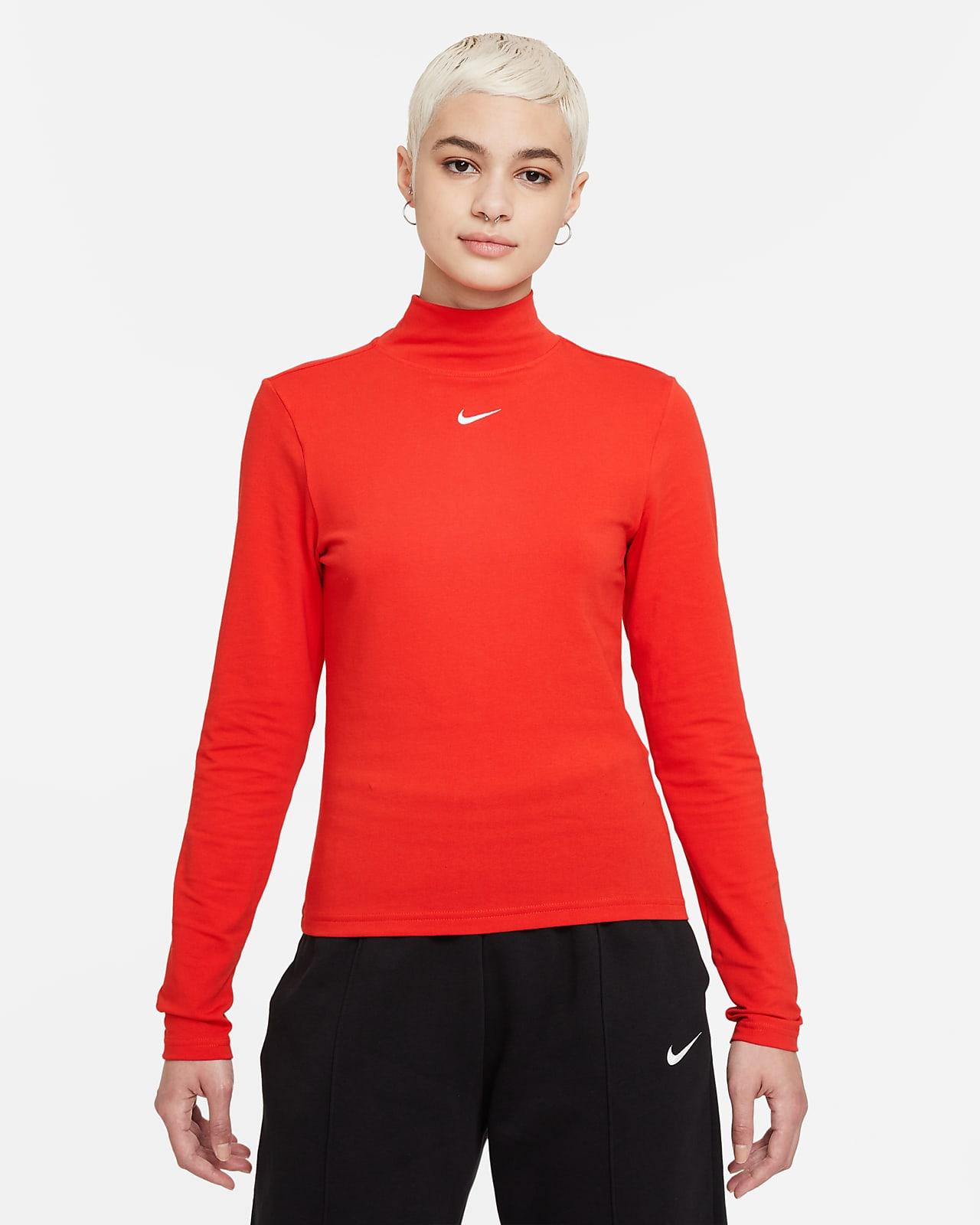 Nike Sportswear Collection Essentials Women's Long-Sleeve Mock Top