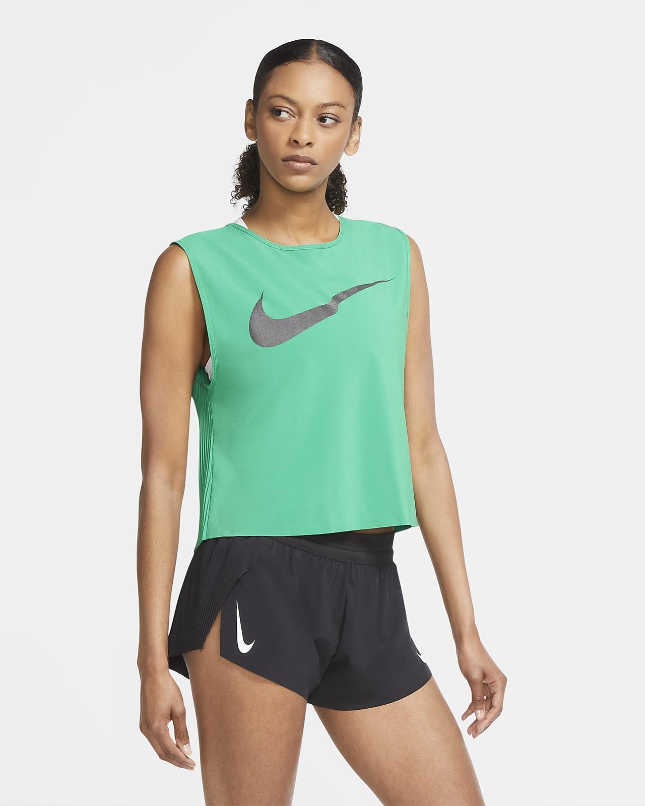 Nike Run Division Women's Pleated Running Tank