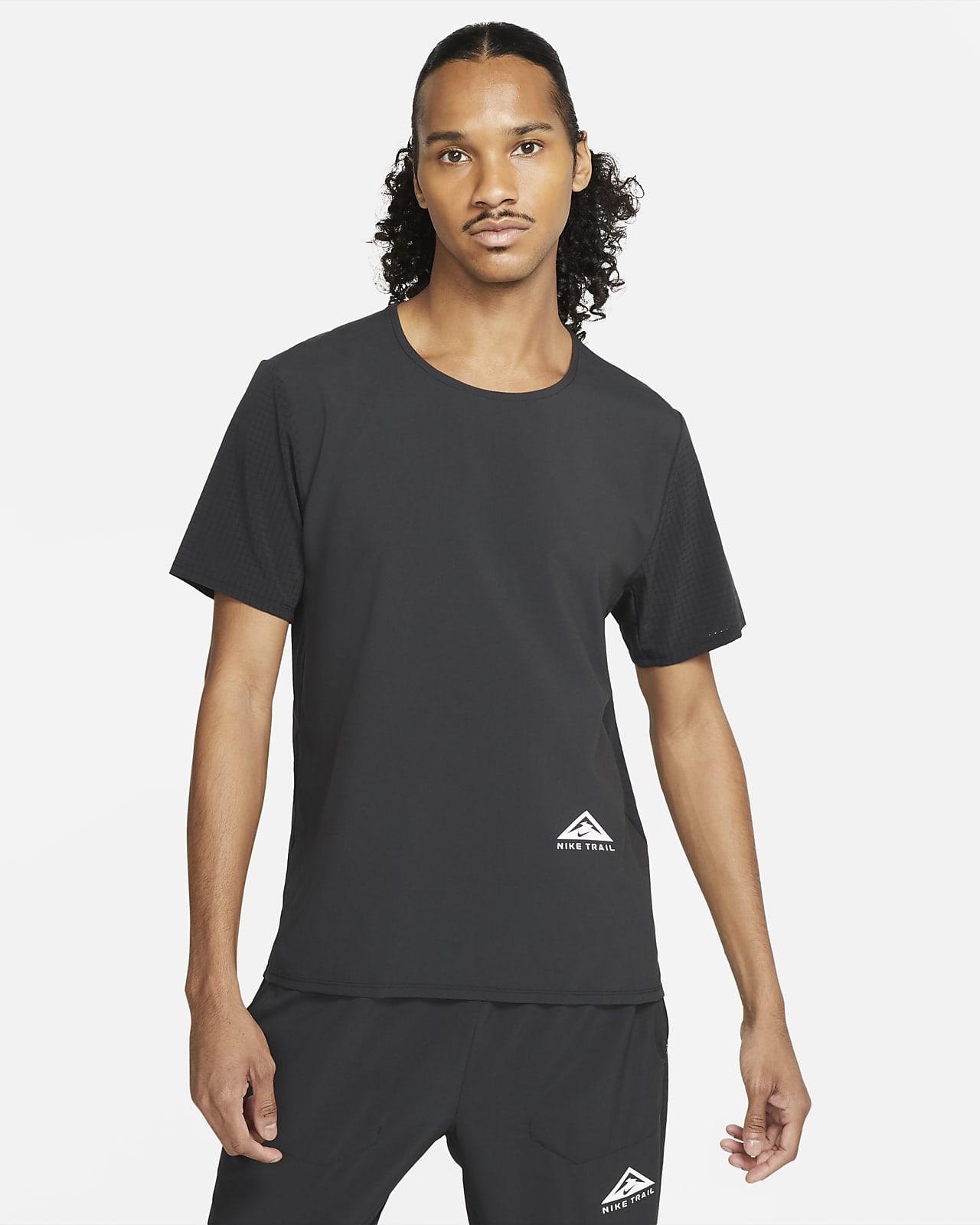 Κοντομάνικη μπλούζα για τρέξιμο σε ανώμαλο δρόμο Nike Dri-FIT Rise 365
